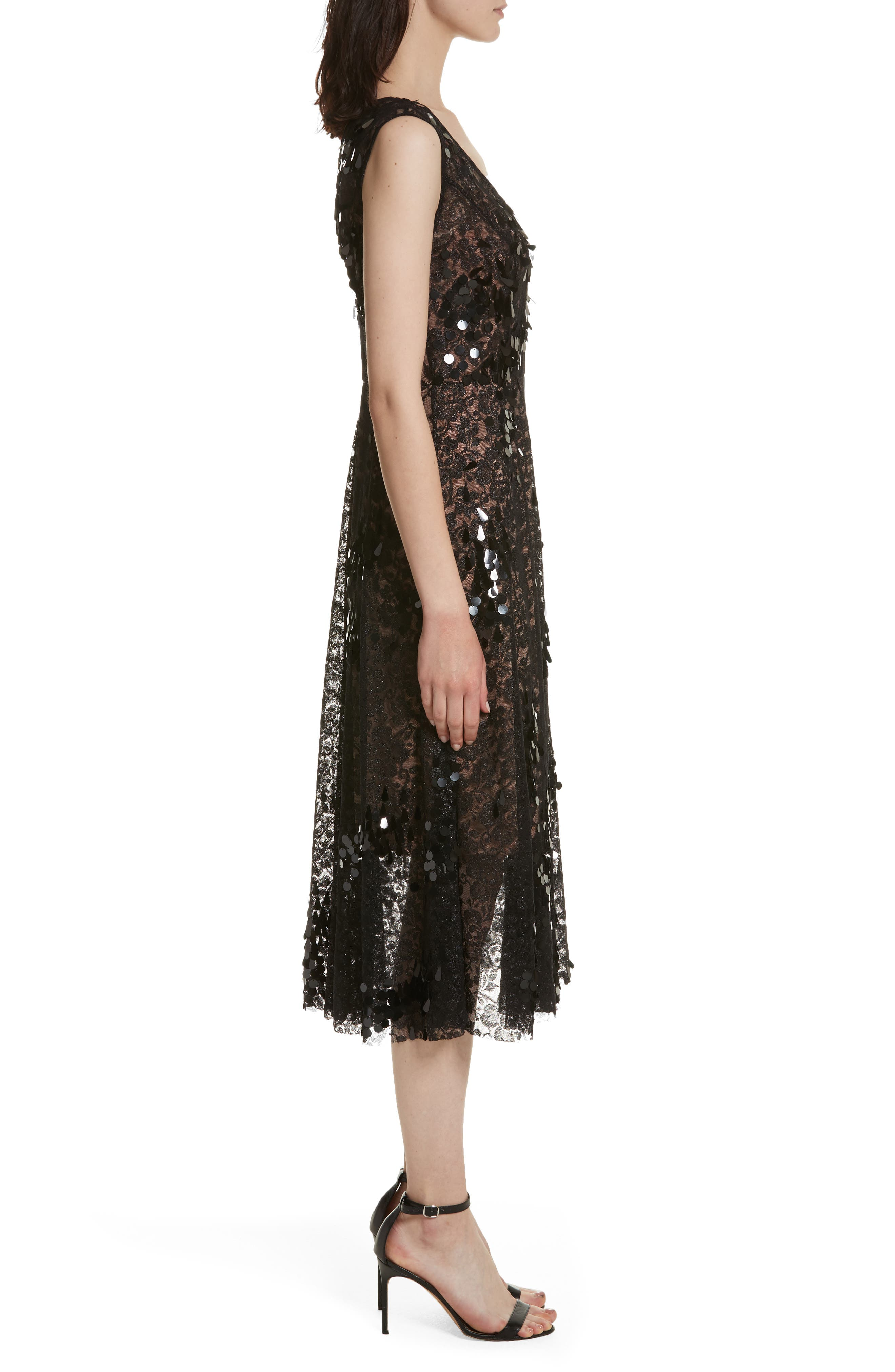 Alternate Image 3  - Tracy Reese Lace Fit & Flare Midi Dress