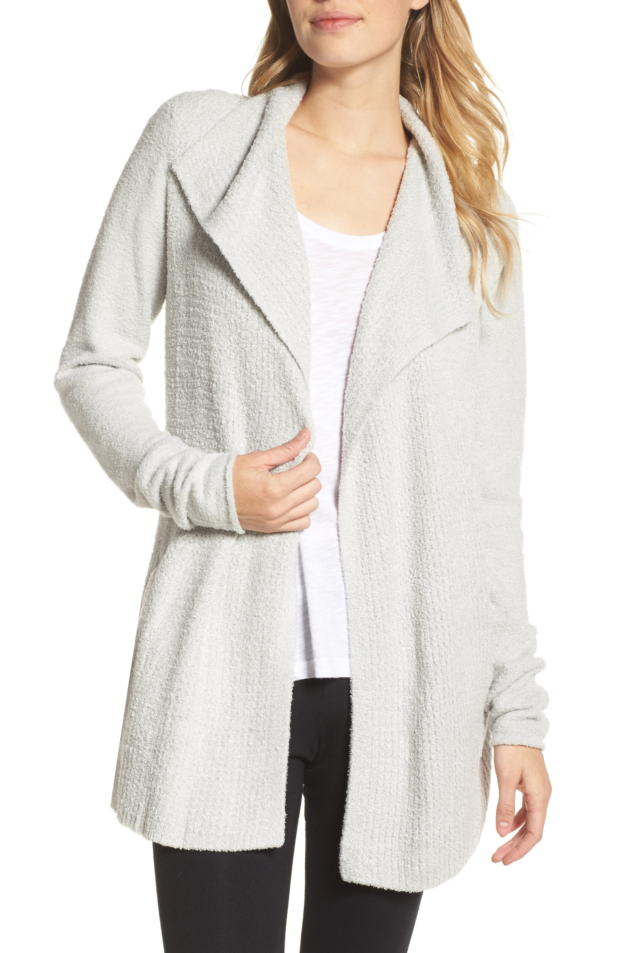 Alternate Image 1 Selected - Barefoot Dreams® Cozychic® Lite Coastal Cardigan