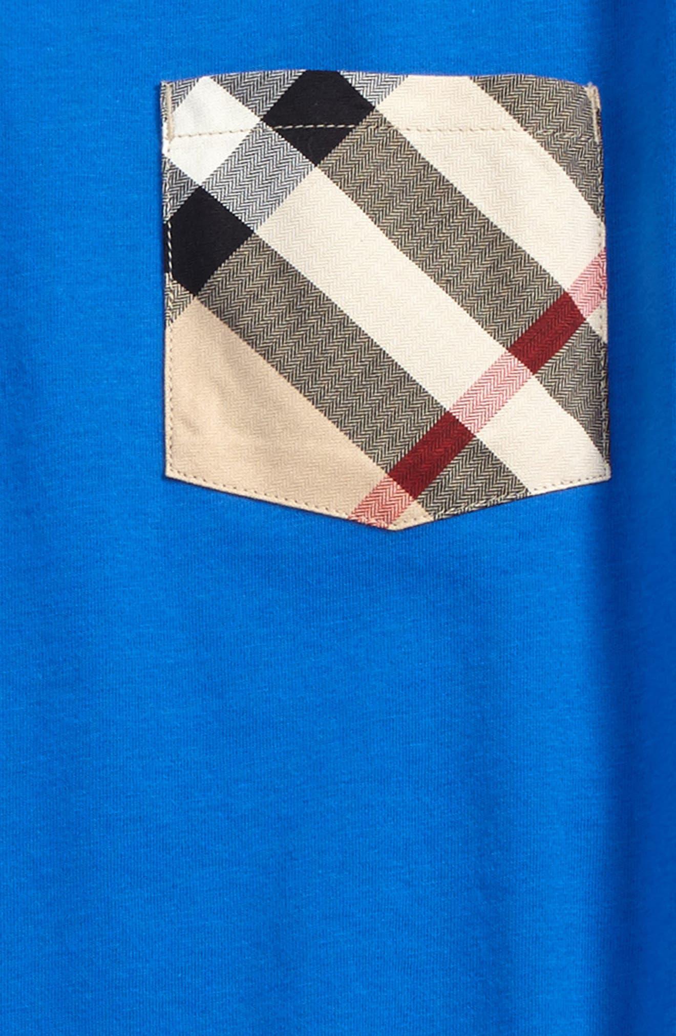 Alternate Image 2  - Burberry Check Pocket Shirt (Little Boys & Big Boys)
