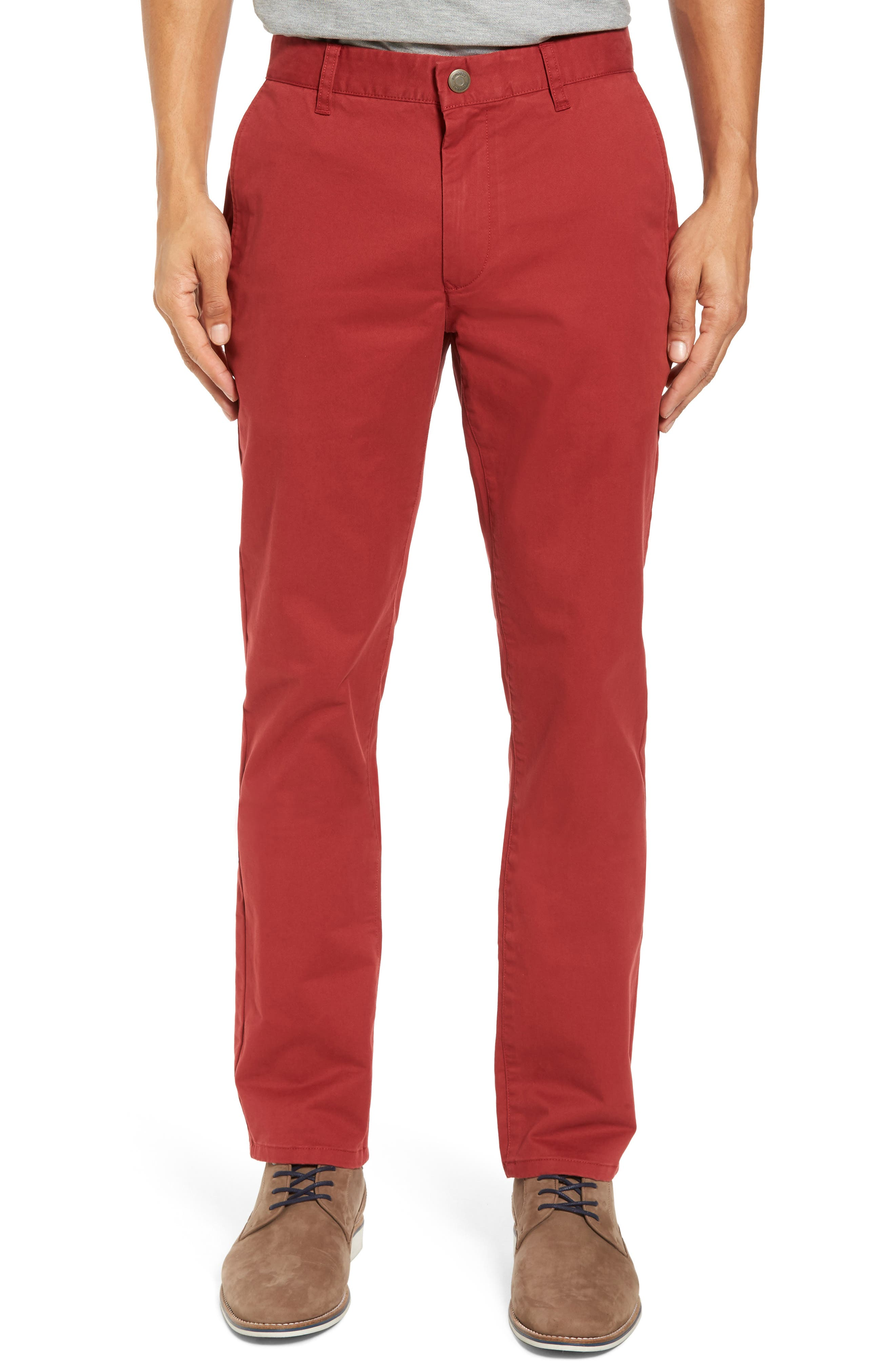 Alternate Image 1 Selected - Bonobos Tailored Fit Washed Stretch Cotton Chinos