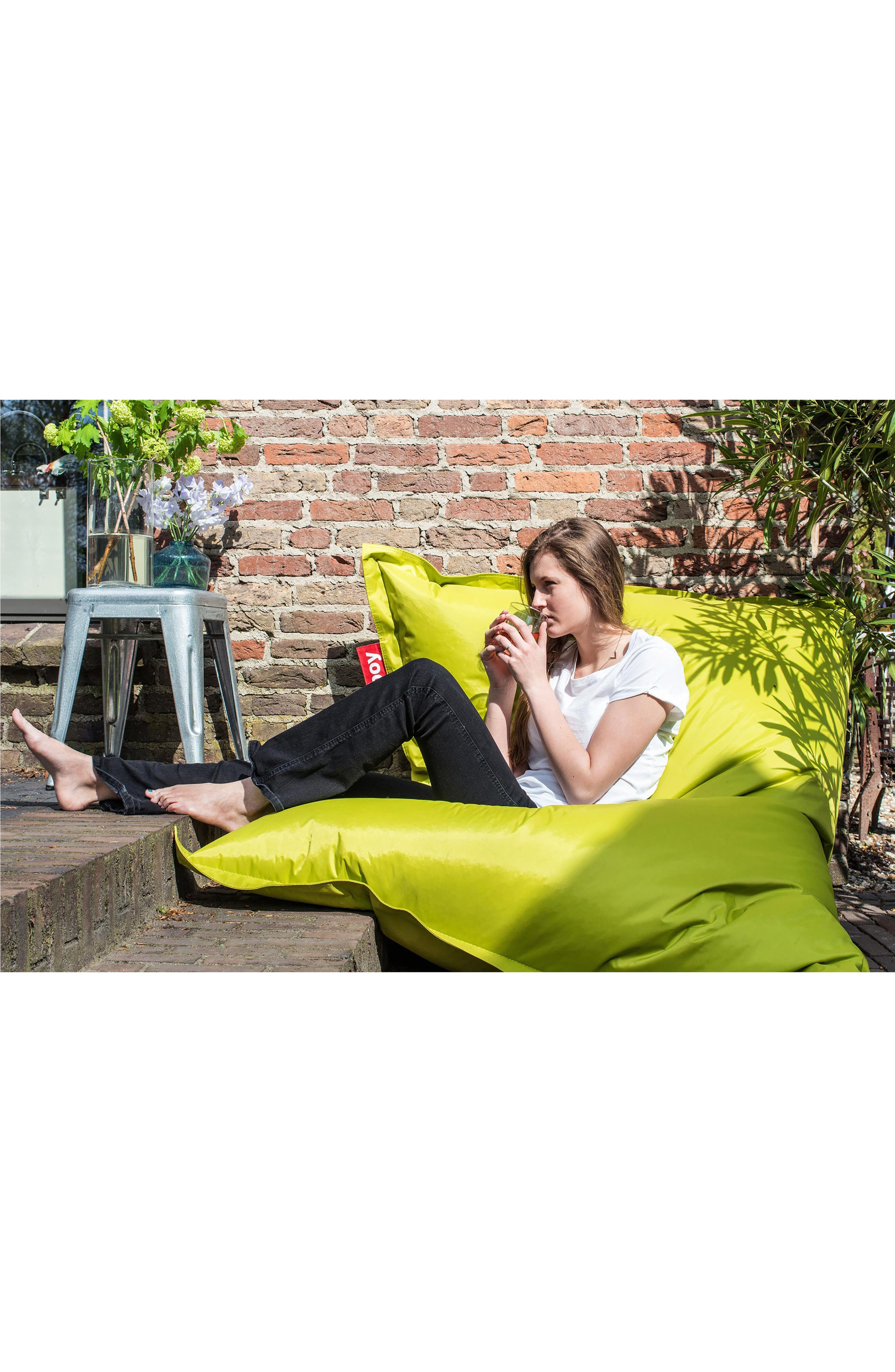 Original Beanbag Chair,                             Alternate thumbnail 3, color,                             Taupe