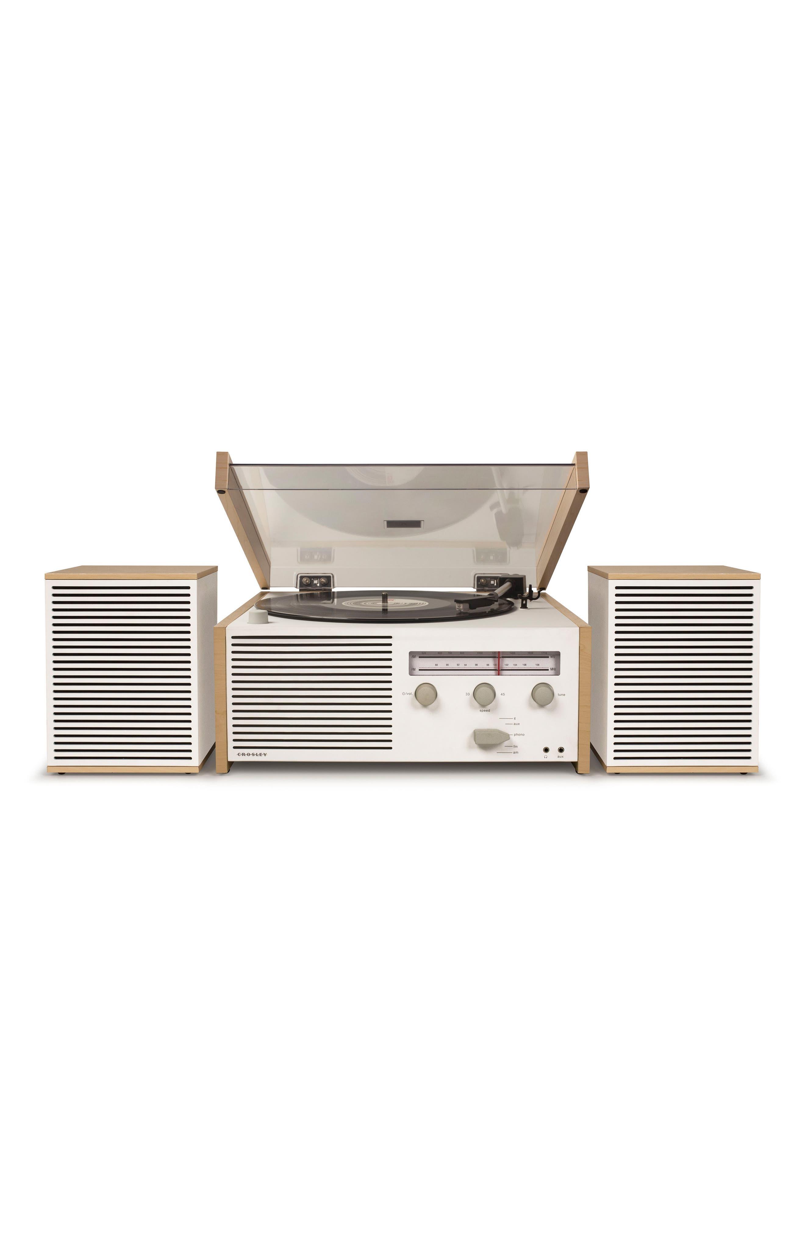 Alternate Image 1 Selected - Crosley Radio Switch II Turntable & Speakers Entertainment System
