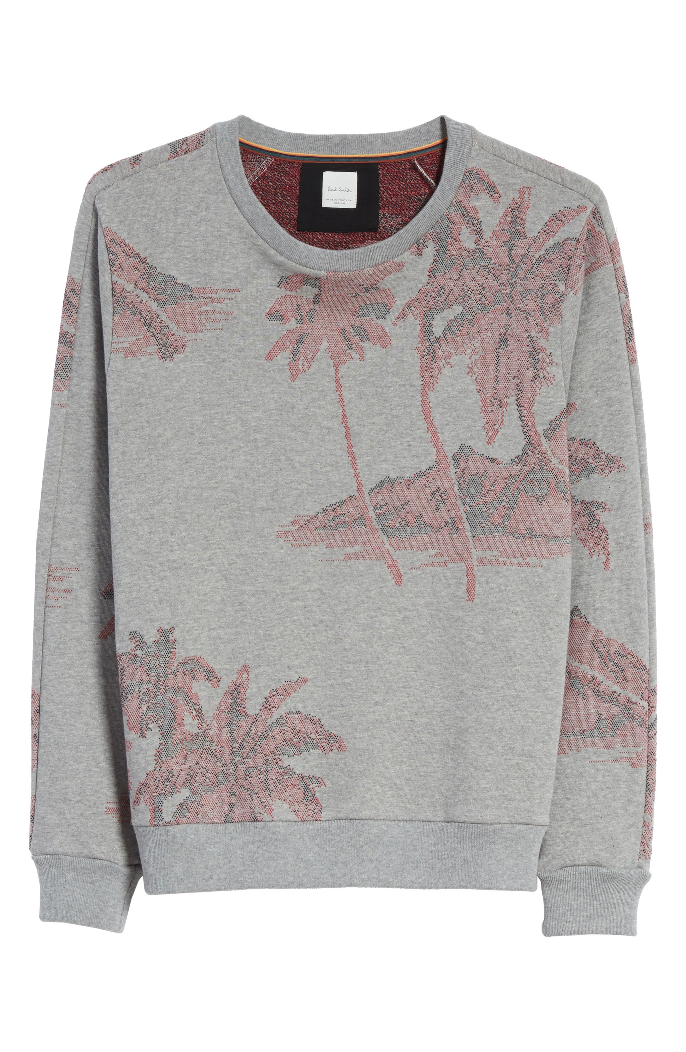 Crewneck Sweatshirt,                             Alternate thumbnail 6, color,                             24 Grey