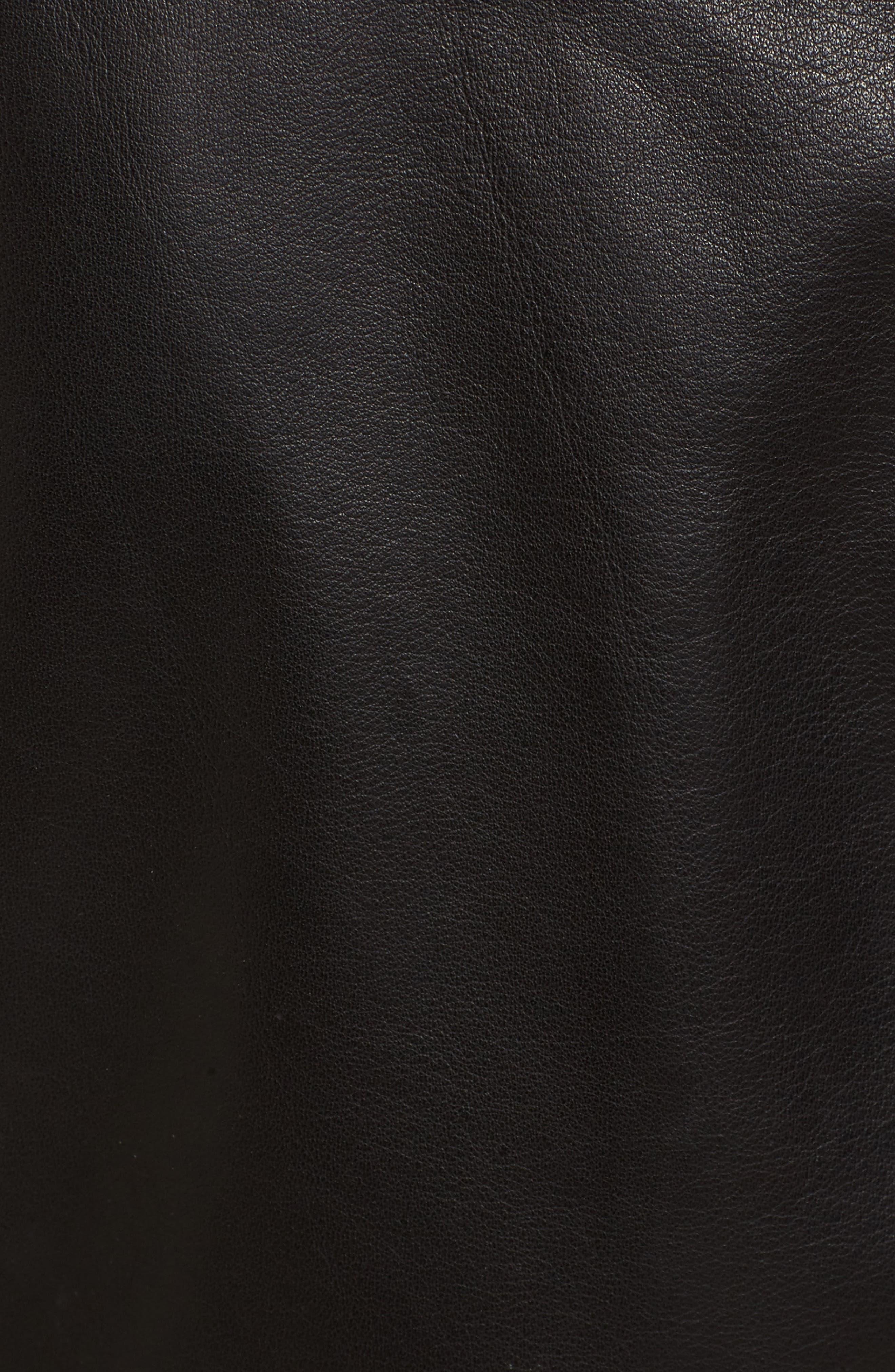 Alternate Image 5  - Rebecca Minkoff Adelia Leather Moto Jacket