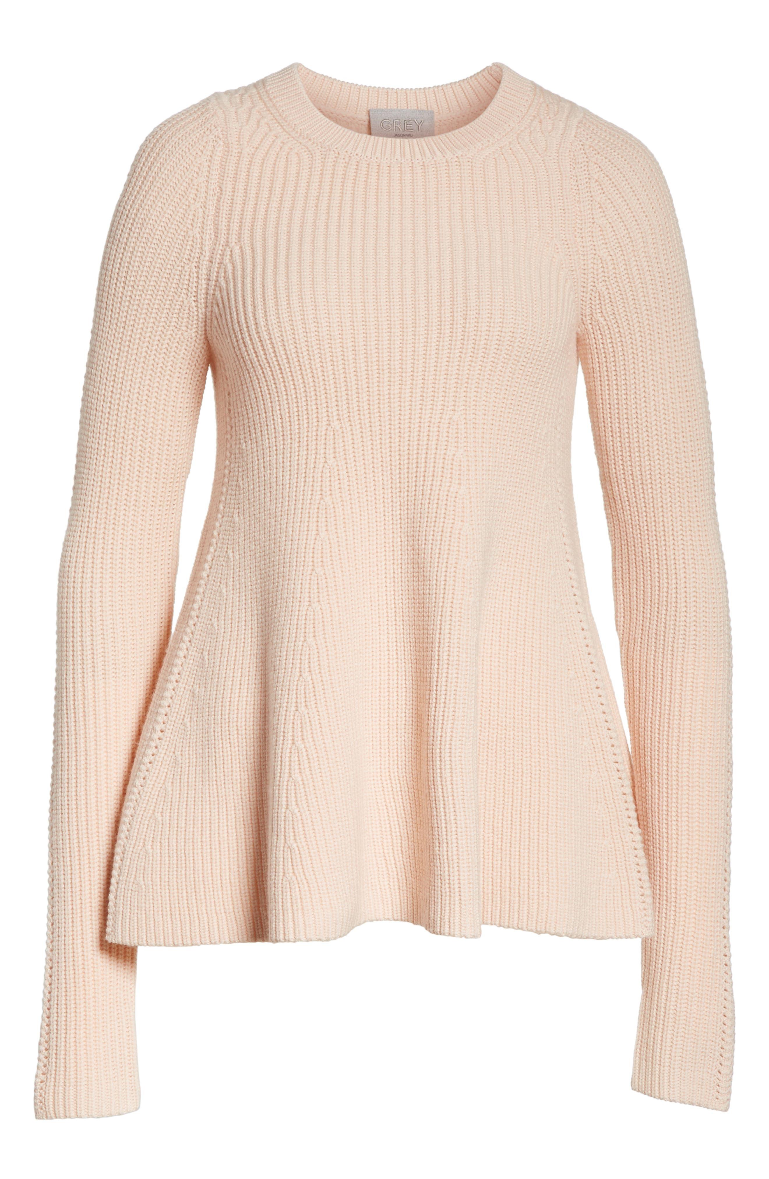 Alternate Image 6  - GREY Jason Wu Wool Trapeze Sweater