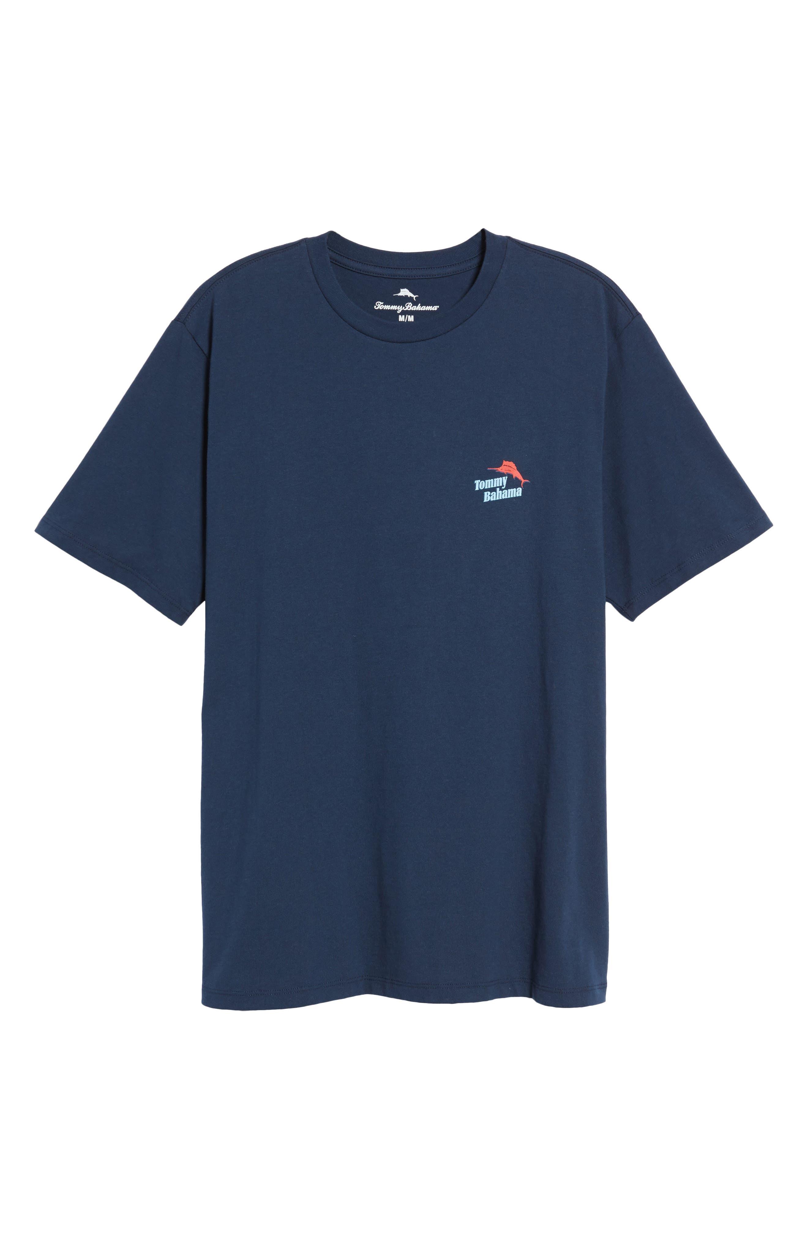 Parrot Sailing T-Shirt,                             Alternate thumbnail 6, color,                             Navy