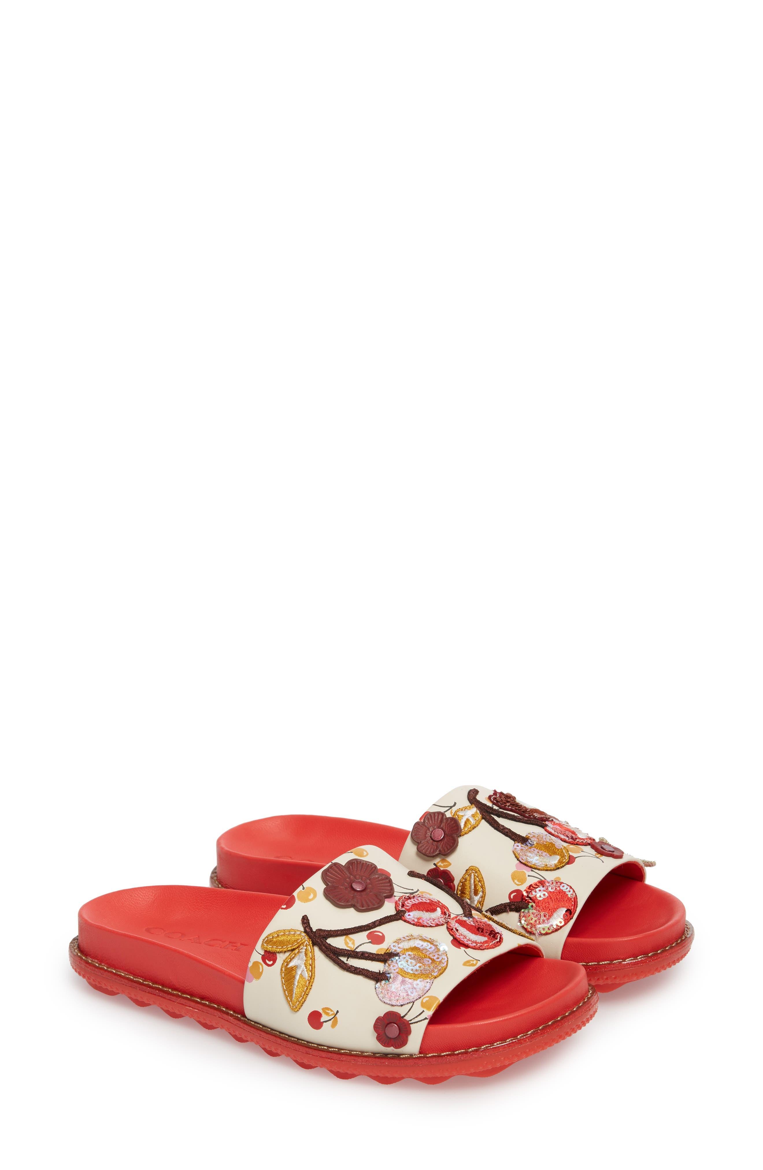 COACH Patch Sport Slide Sandal (Women)