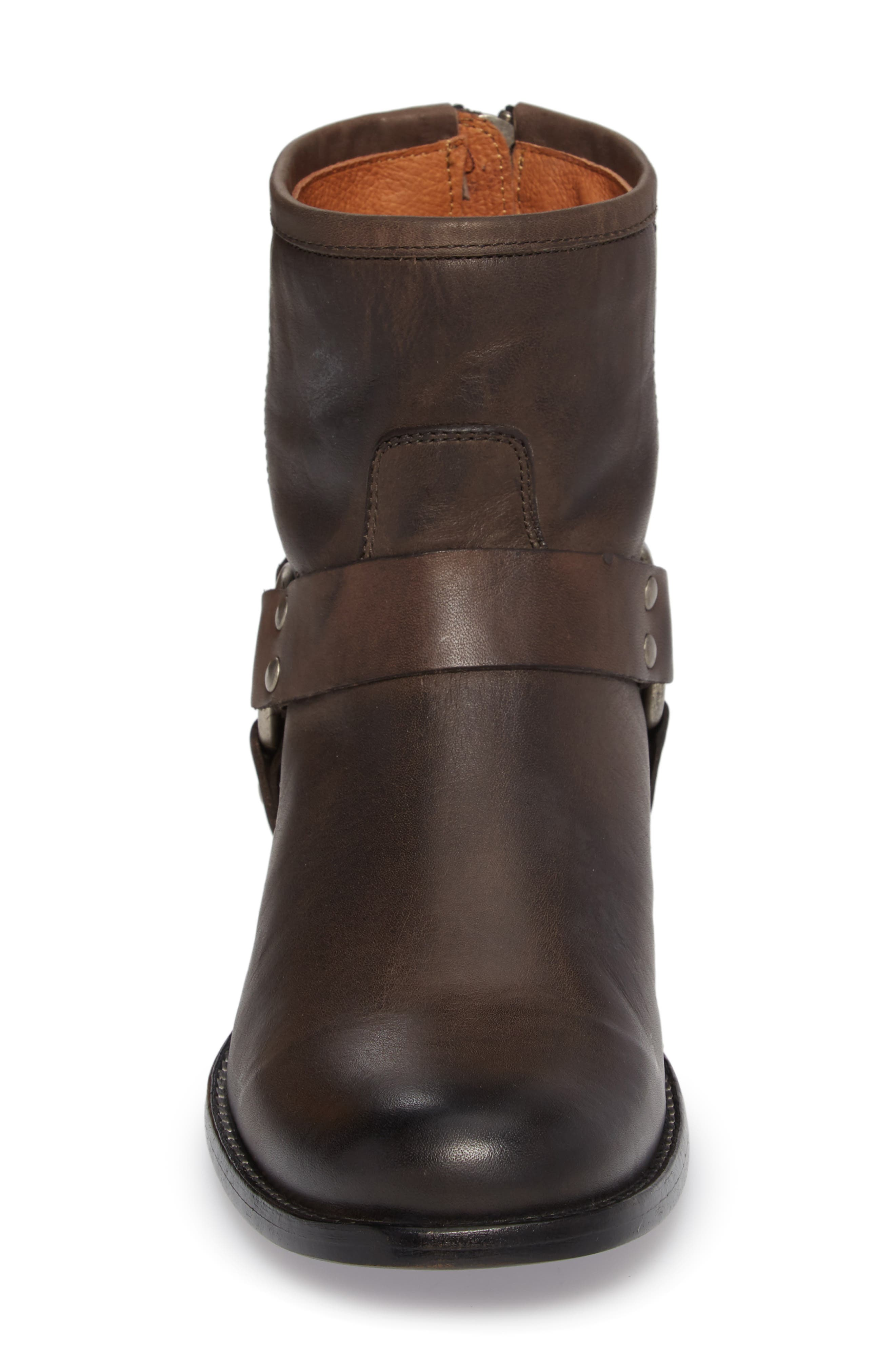 Phillip Harness Boot,                             Alternate thumbnail 4, color,                             Smoke Leather