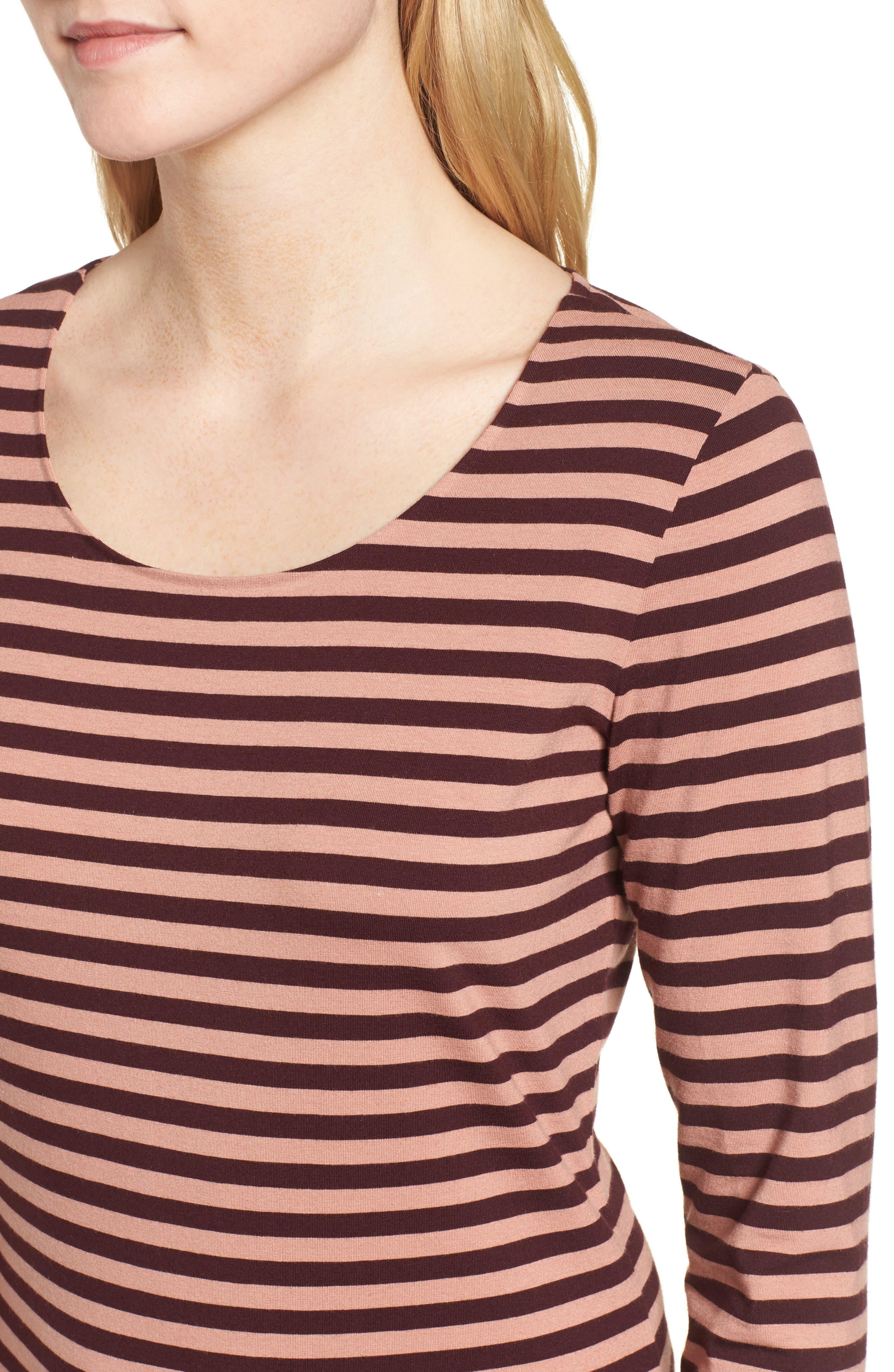 Alternate Image 4  - BOSS Emmisana Stripe Top