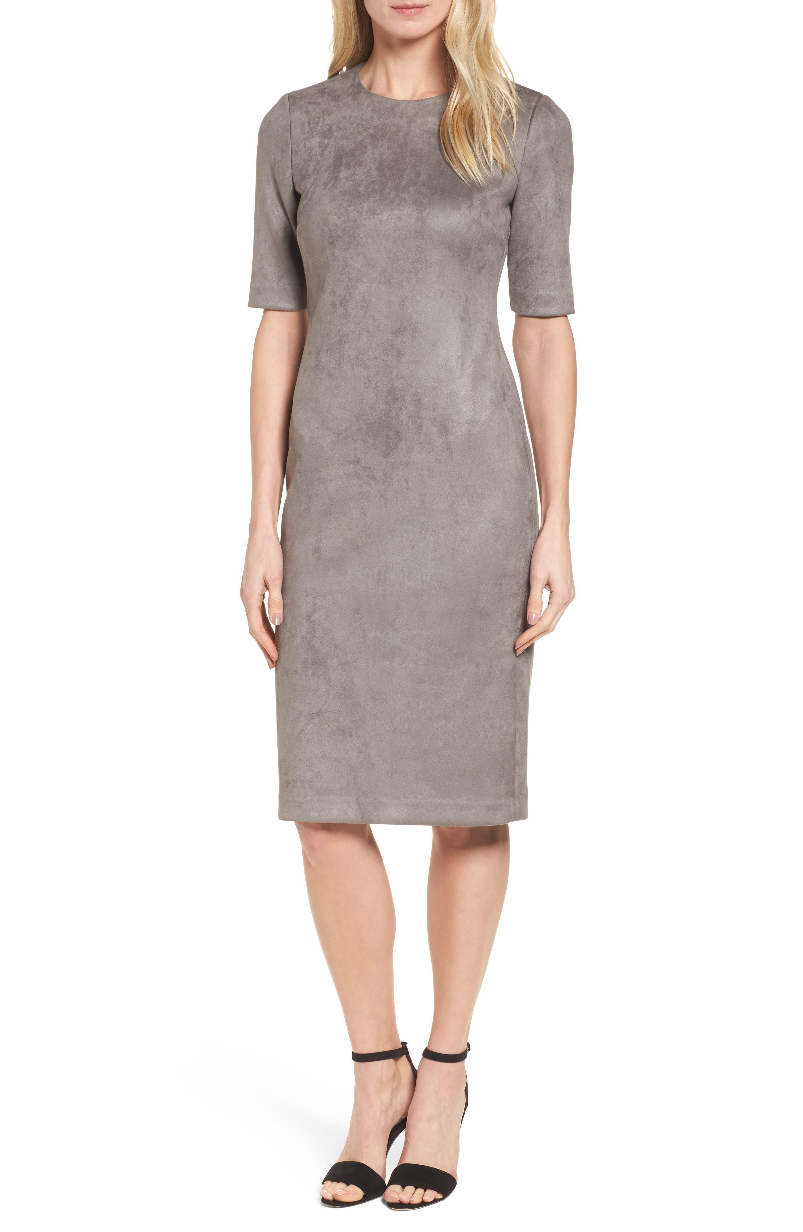 Alternate Image 1 Selected - Anne Klein Scuba Knit Sheath Dress