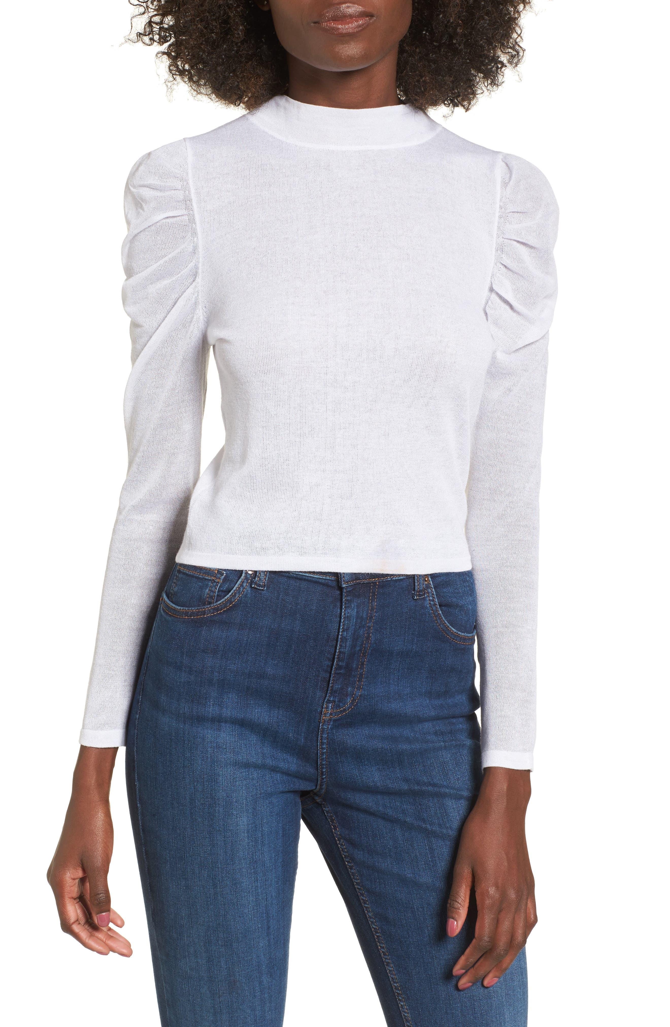 Keepsake the Label Momentum Mock Neck Sweater