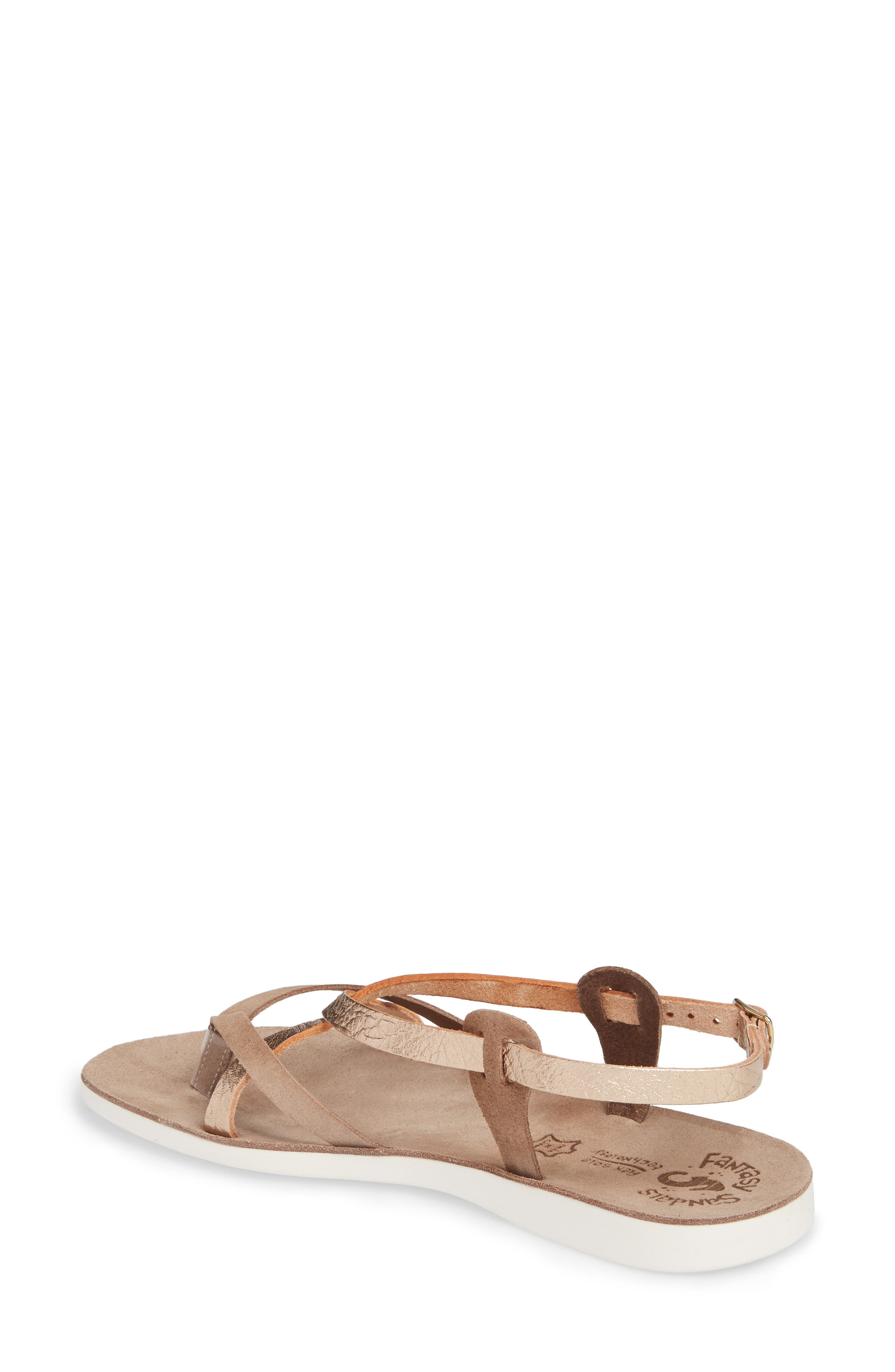 Anelia Fantasy Sandal,                             Alternate thumbnail 2, color,                             Coffee Volcano Leather