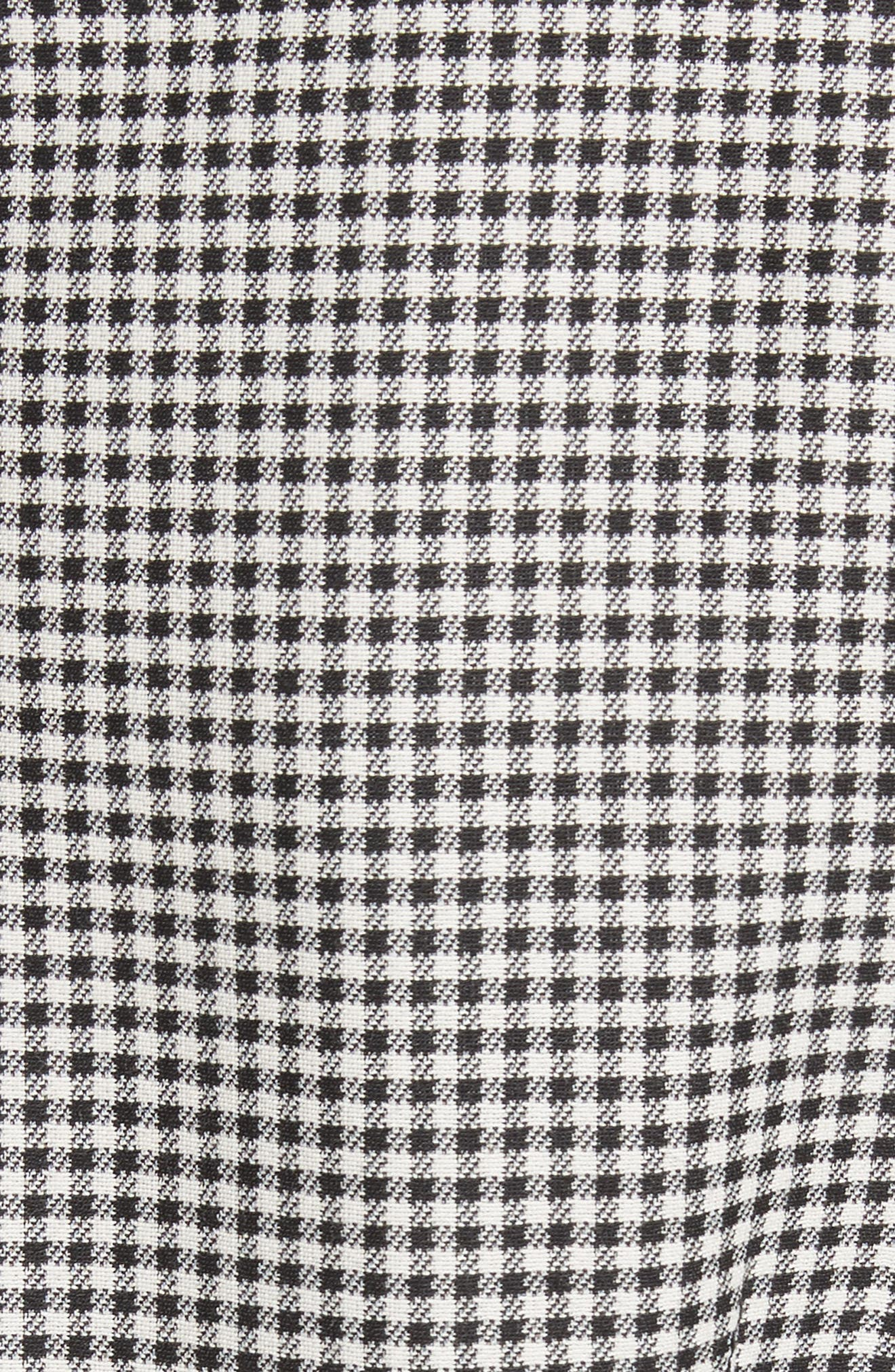 Alternate Image 5  - Sara Battaglia Skirted Gingham Coat