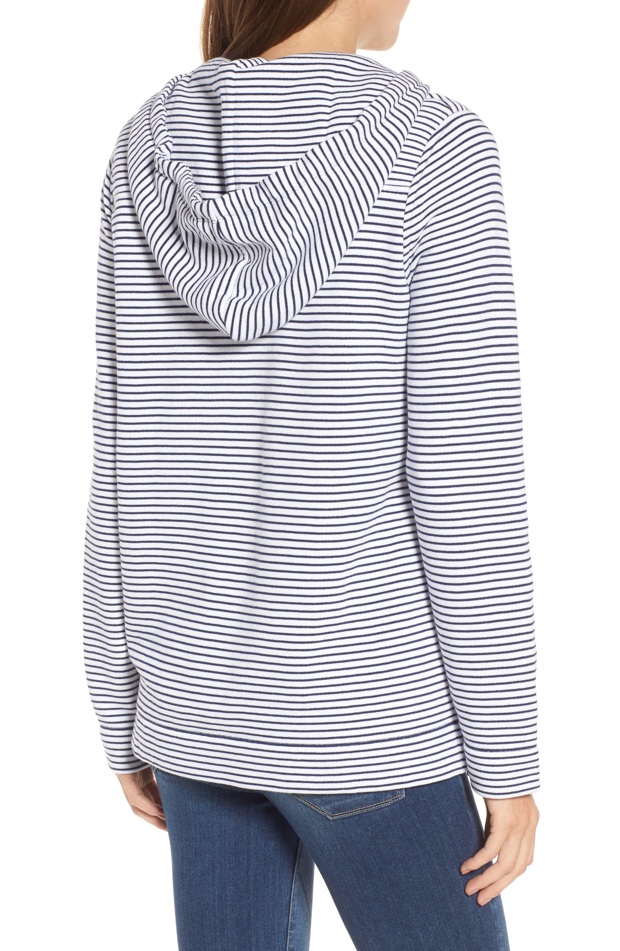 Island Stripe Shep Hoodie Shirt,                             Alternate thumbnail 2, color,                             Deep Bay
