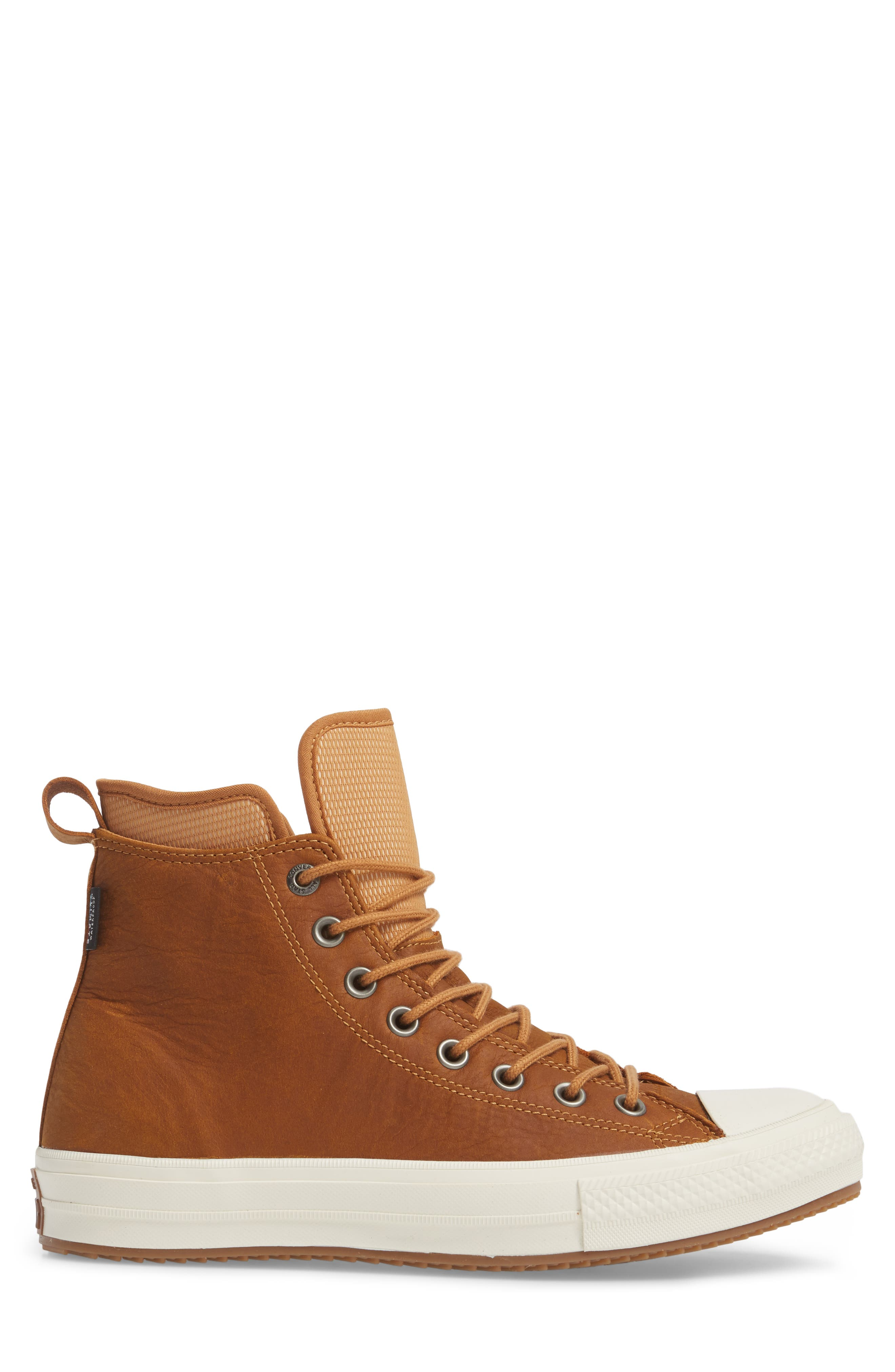 Chuck Taylor<sup>®</sup> All Star<sup>®</sup> Waterproof Sneaker,                             Alternate thumbnail 3, color,                             Raw Sugar