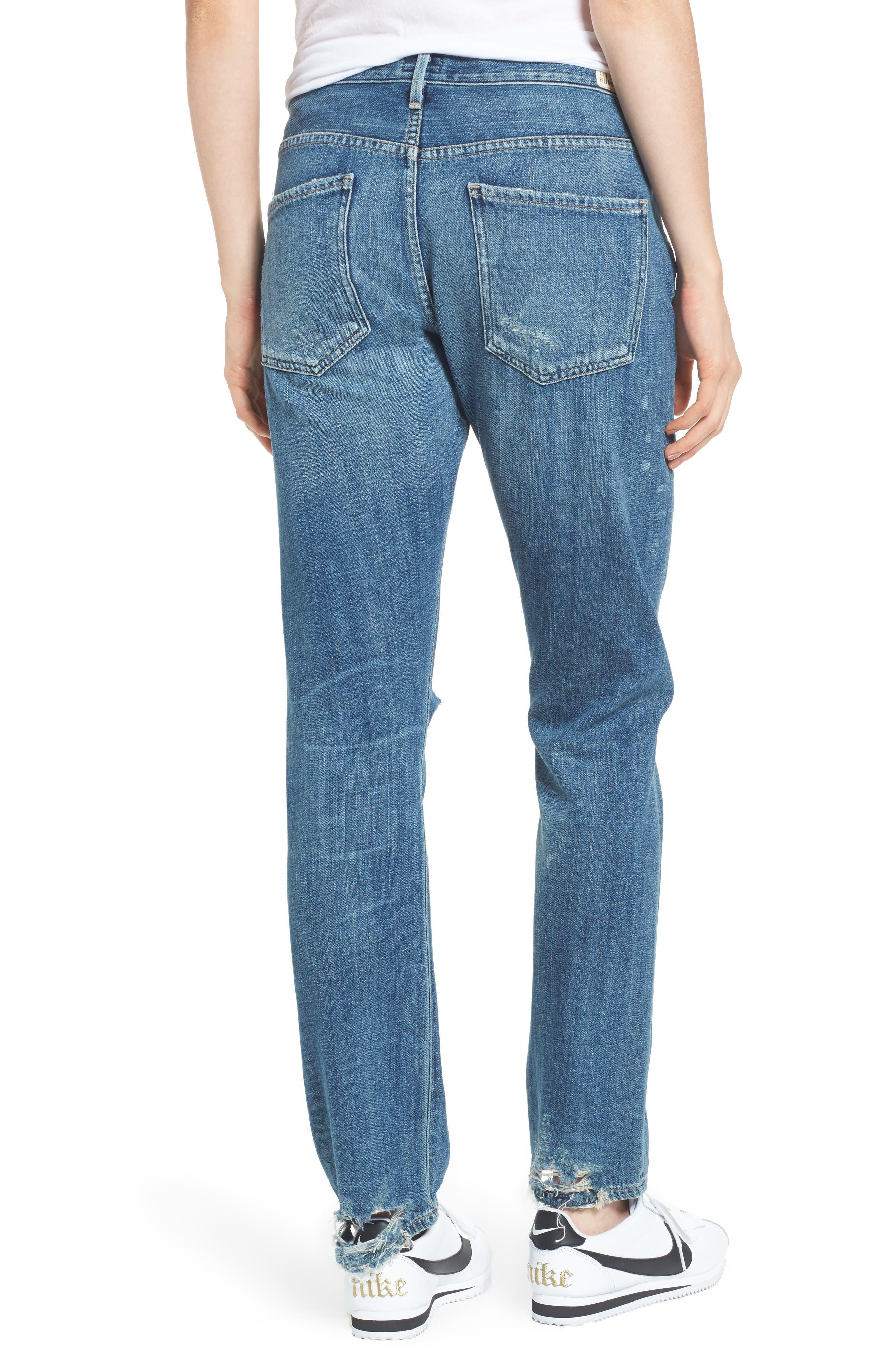 Corey Slouchy Slim Jeans,                             Alternate thumbnail 2, color,                             Manteca