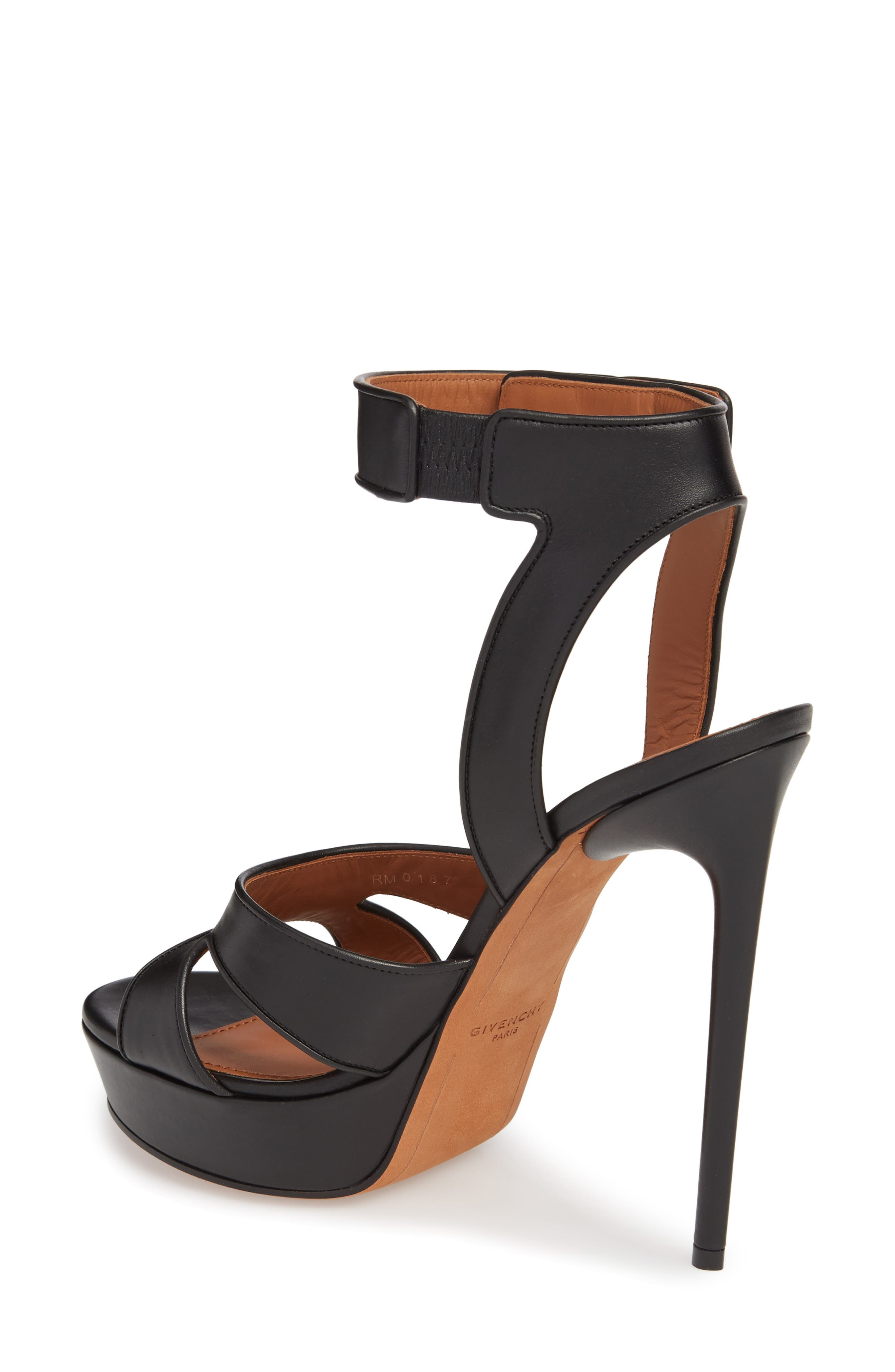 Alternate Image 2  - Givenchy Shark Tooth Platform Sandal (Women)