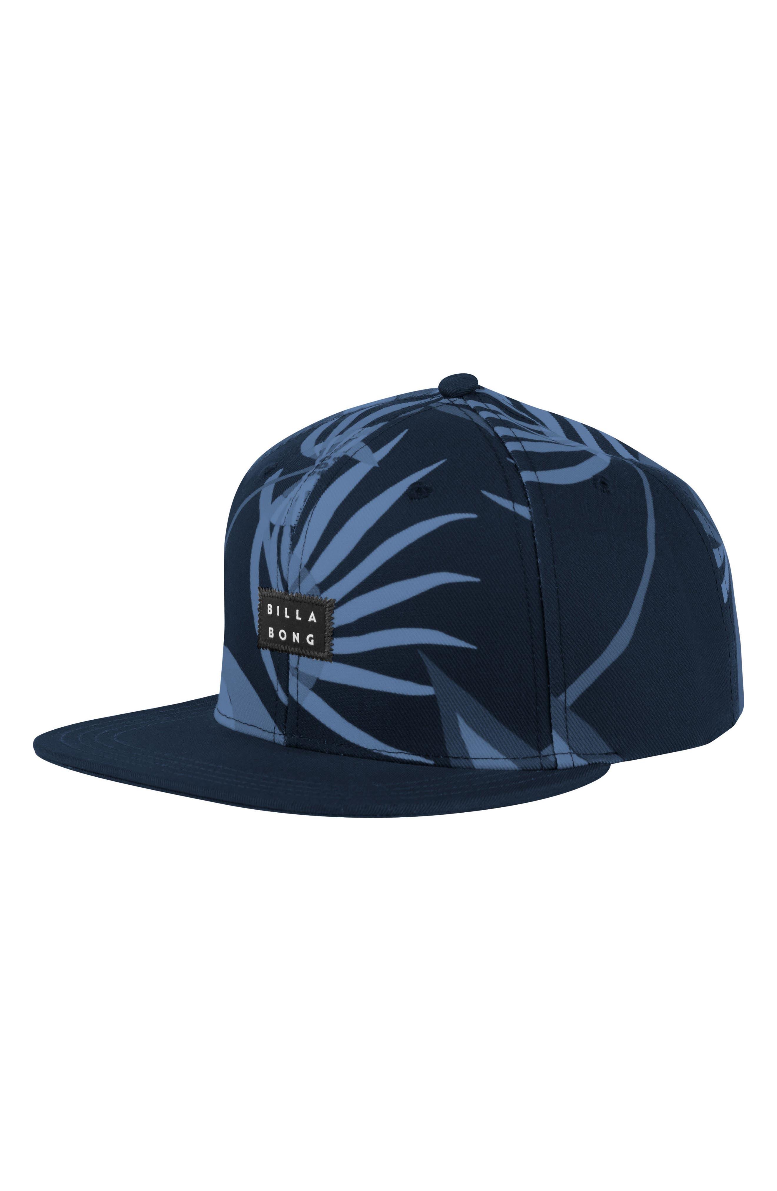 Sundays Snapback Hat,                         Main,                         color, Navy