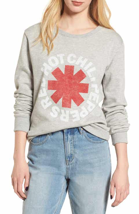 Day by Daydreamer Red Hot Chili Peppers Sweatshirt