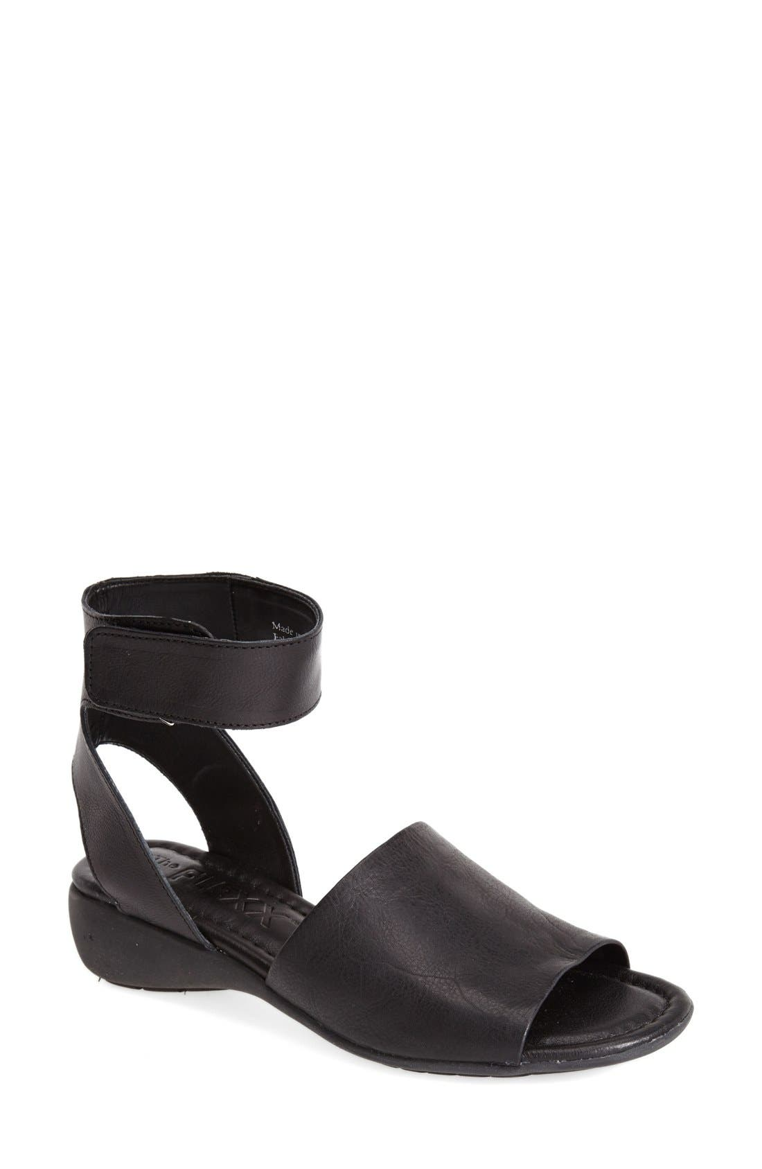 Alternate Image 1 Selected - The FLEXX 'Beglad' Leather Ankle Strap Sandal