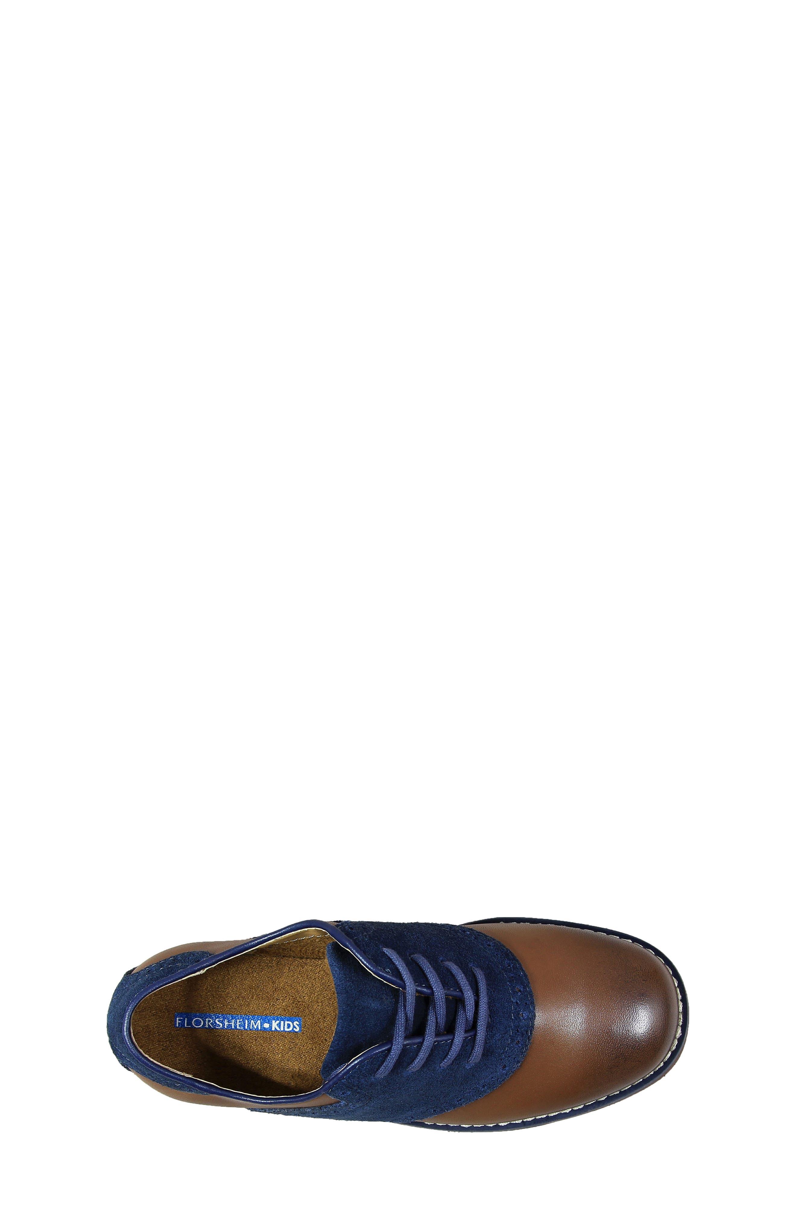Alternate Image 5  - Florsheim 'Kennett Jr. II' Saddle Shoe (Toddler, Little Kid & Big Kid)