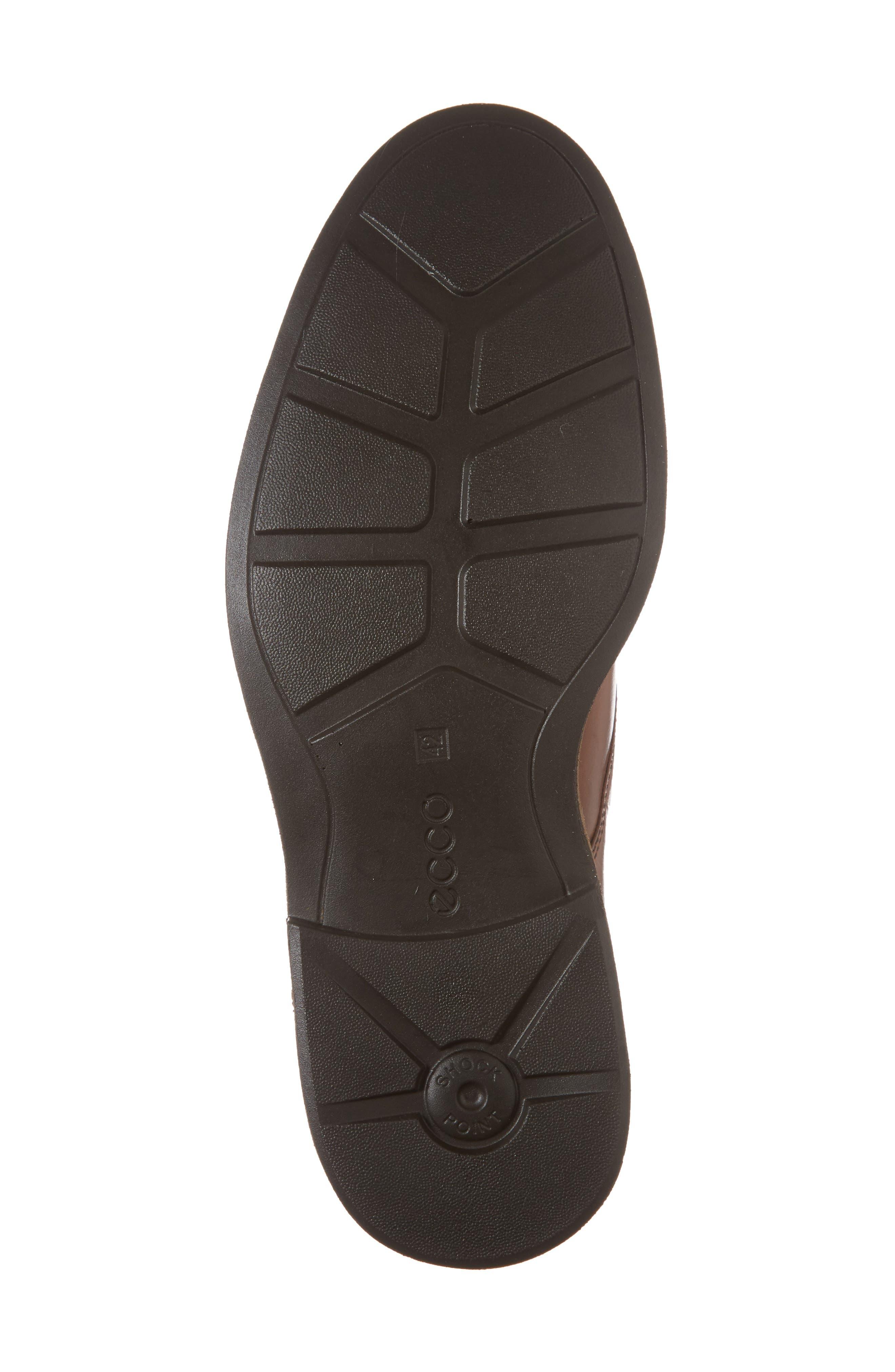 Findlay Plain Toe Derby,                             Alternate thumbnail 6, color,                             Cognac Leather