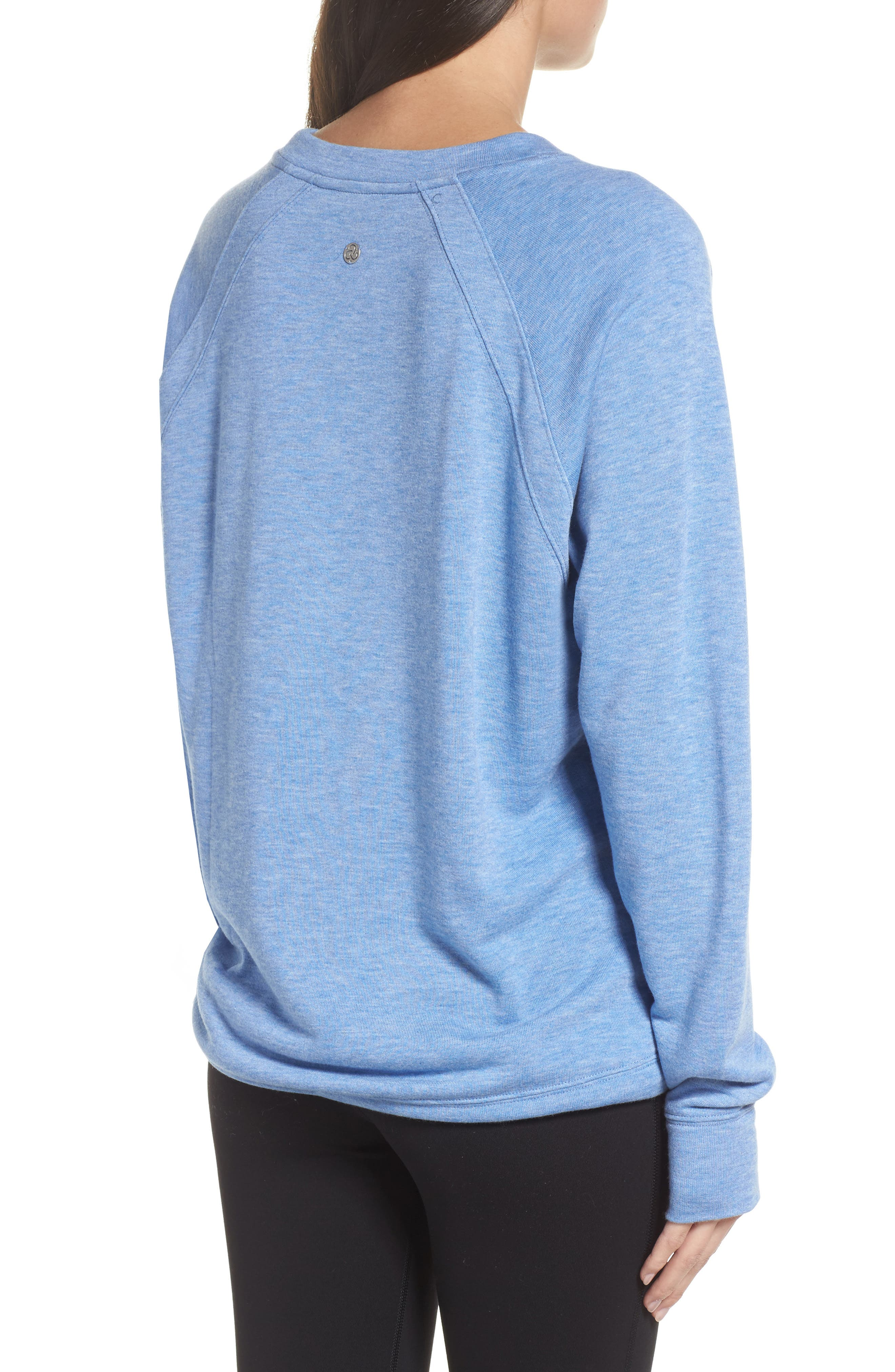 Draw Em In Pullover,                             Alternate thumbnail 2, color,                             Blue Haze Heather