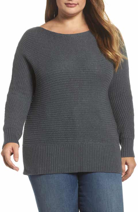 Lucky Brand Off the Shoulder Sweater (Plus Size)