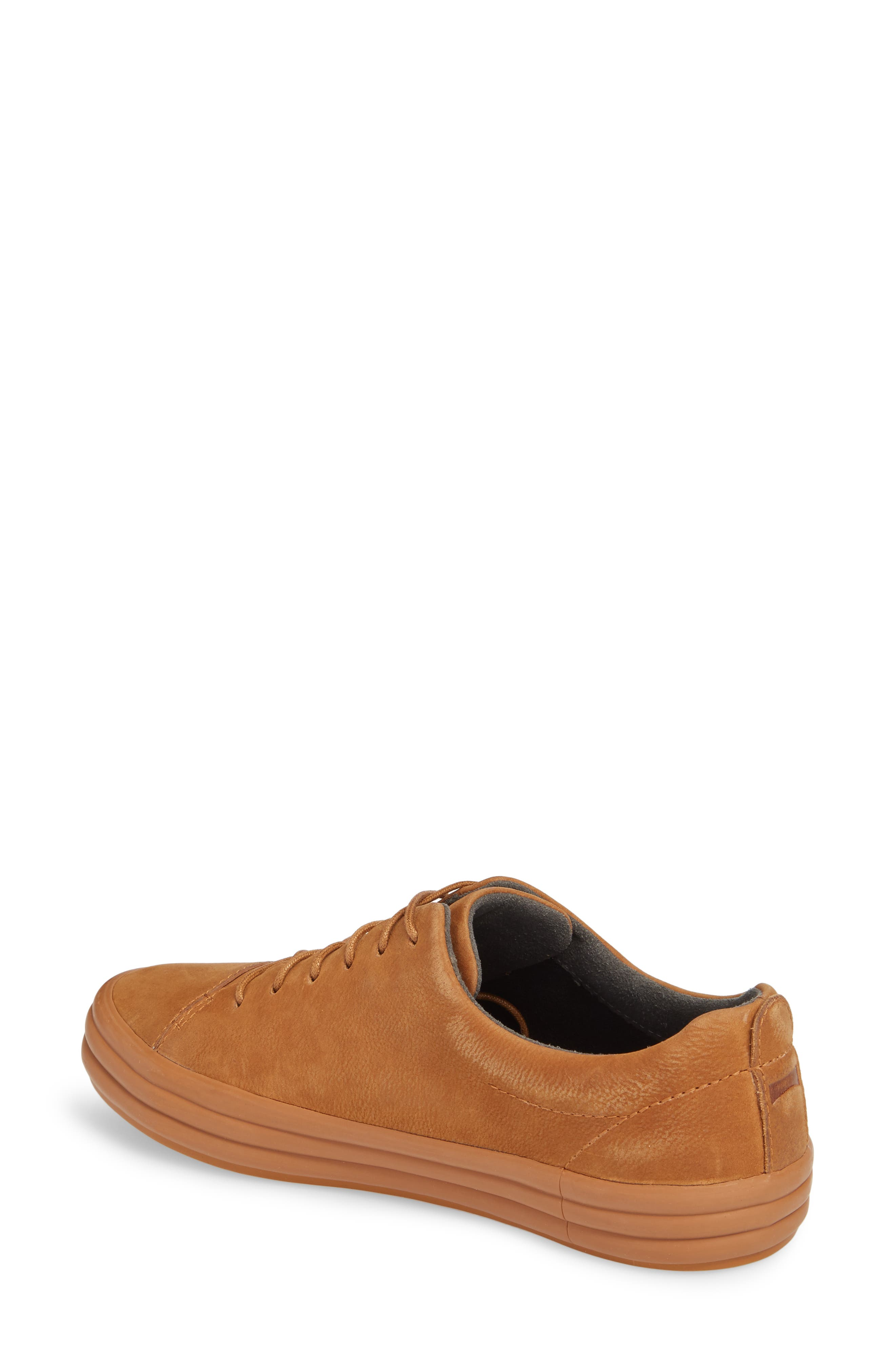Hoops Sneaker,                             Alternate thumbnail 2, color,                             Rust/ Copper Leather