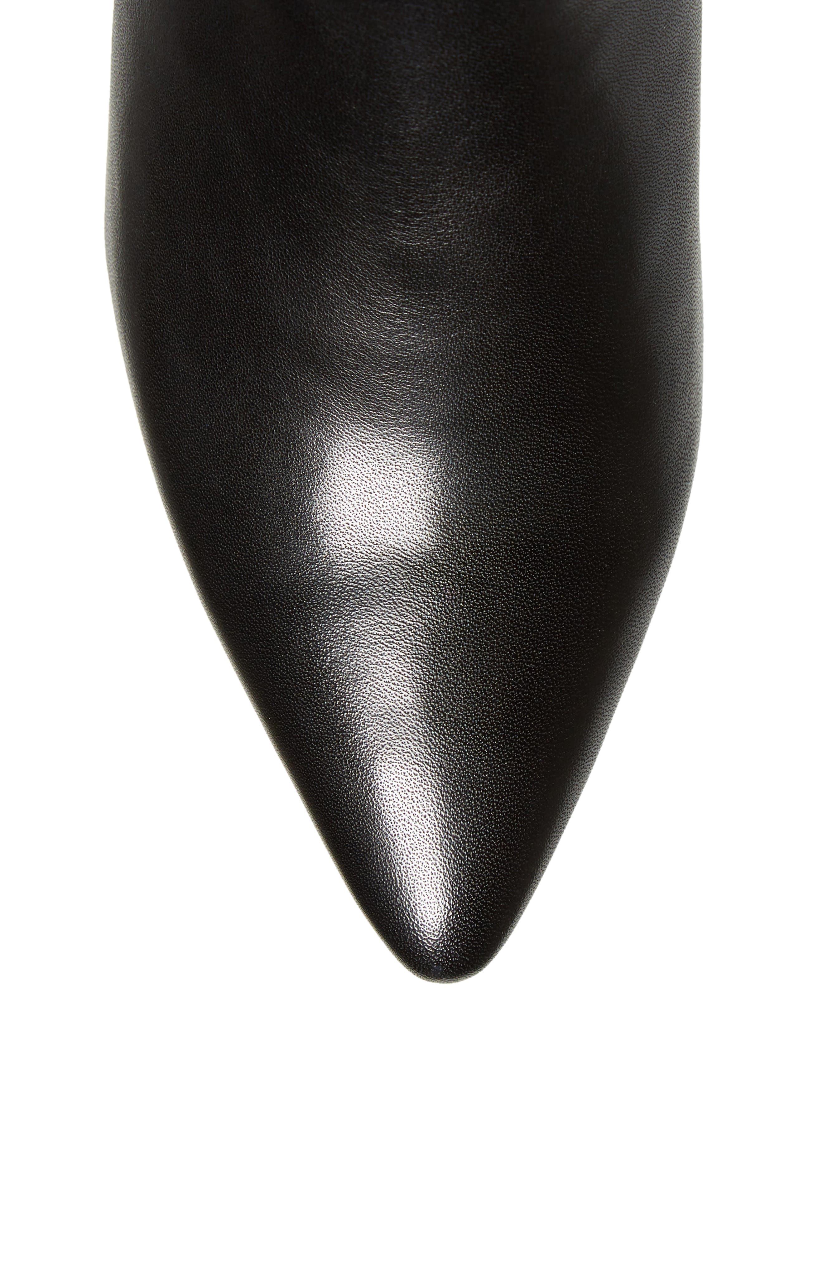 Blink Boot,                             Alternate thumbnail 5, color,                             Black Leather