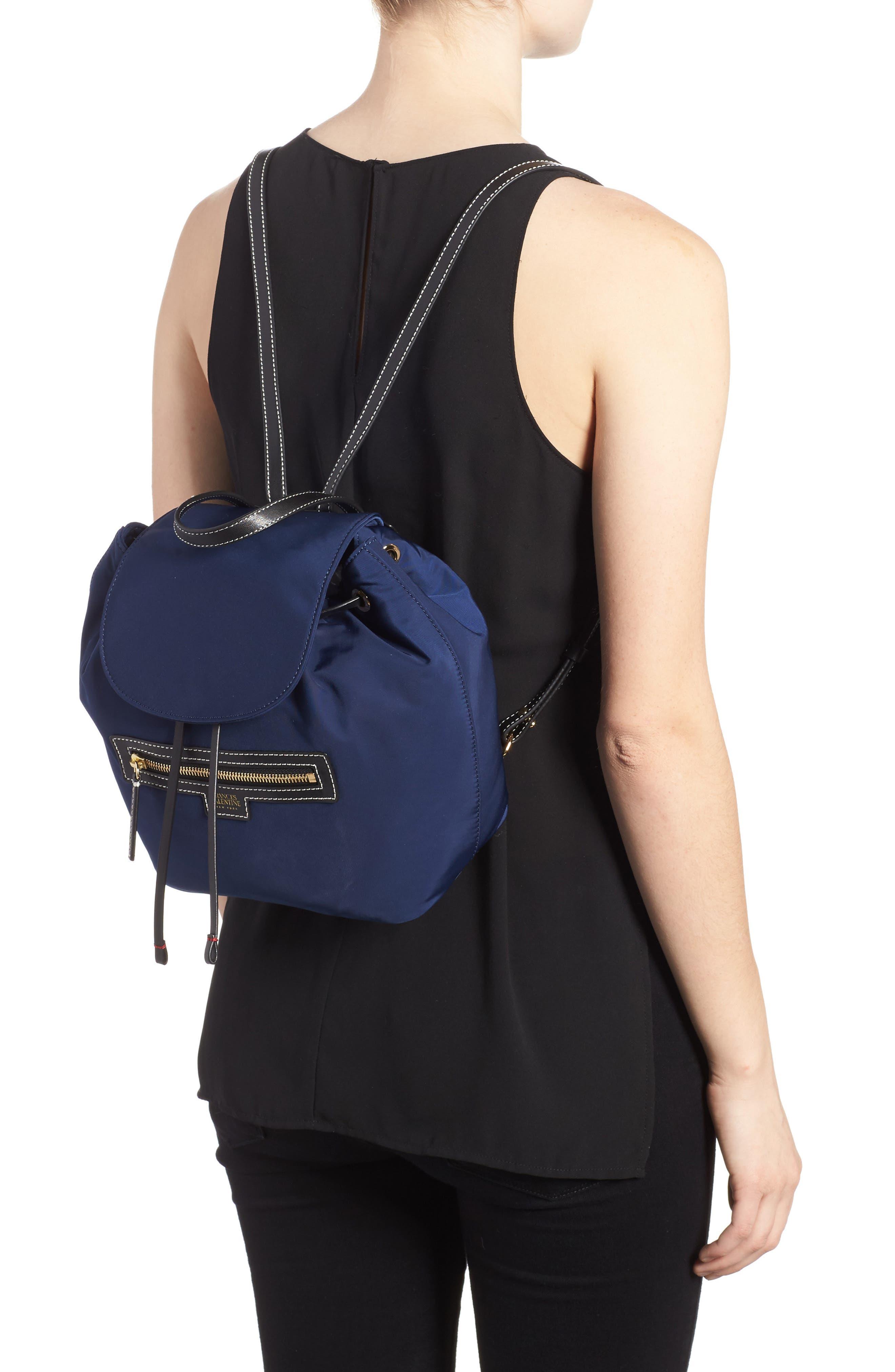 Alternate Image 2  - Frances Valentine Nylon Backpack