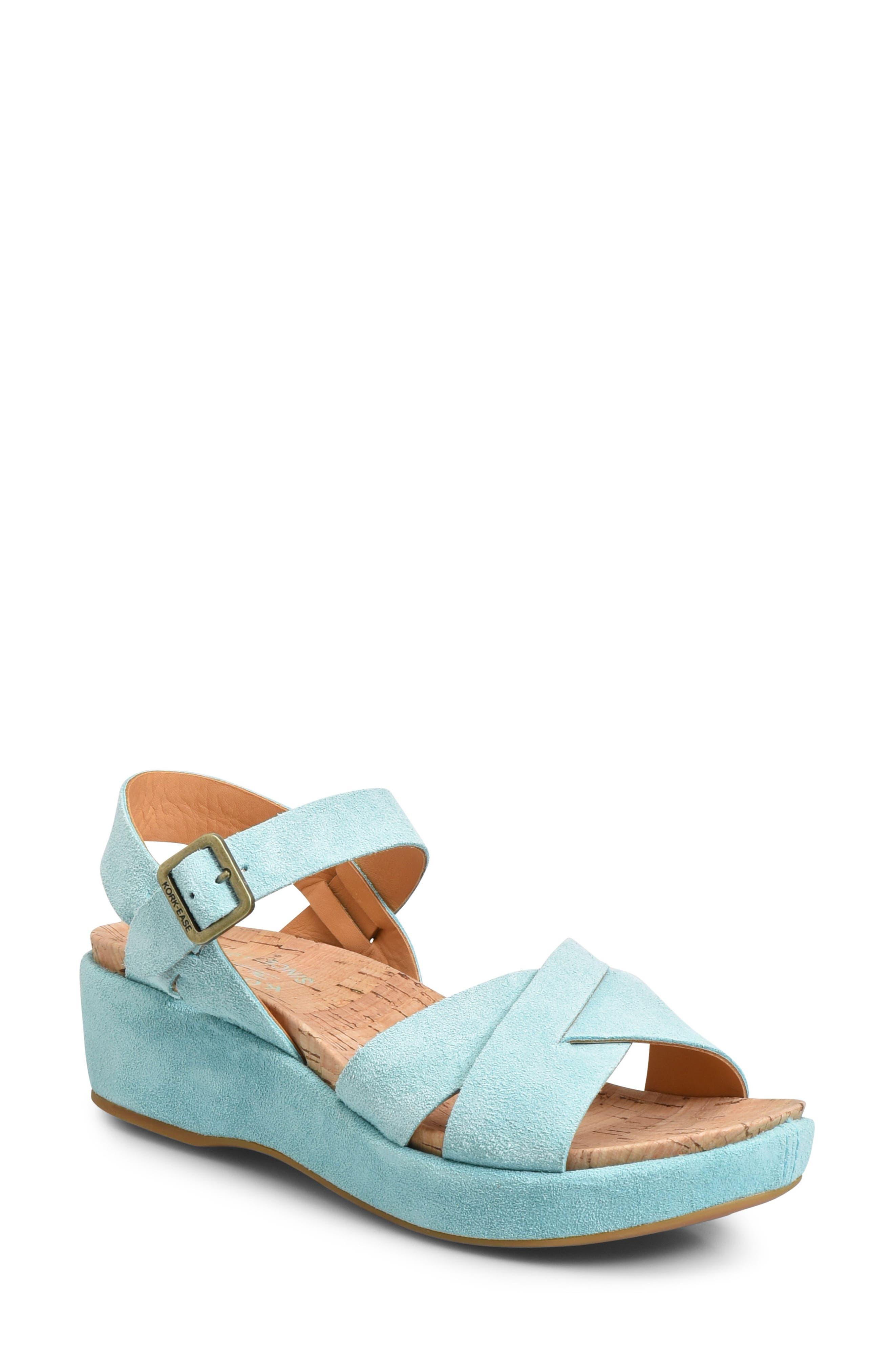Kork-Ease® 'Myrna 2.0' Cork Wedge Sandal (Women)