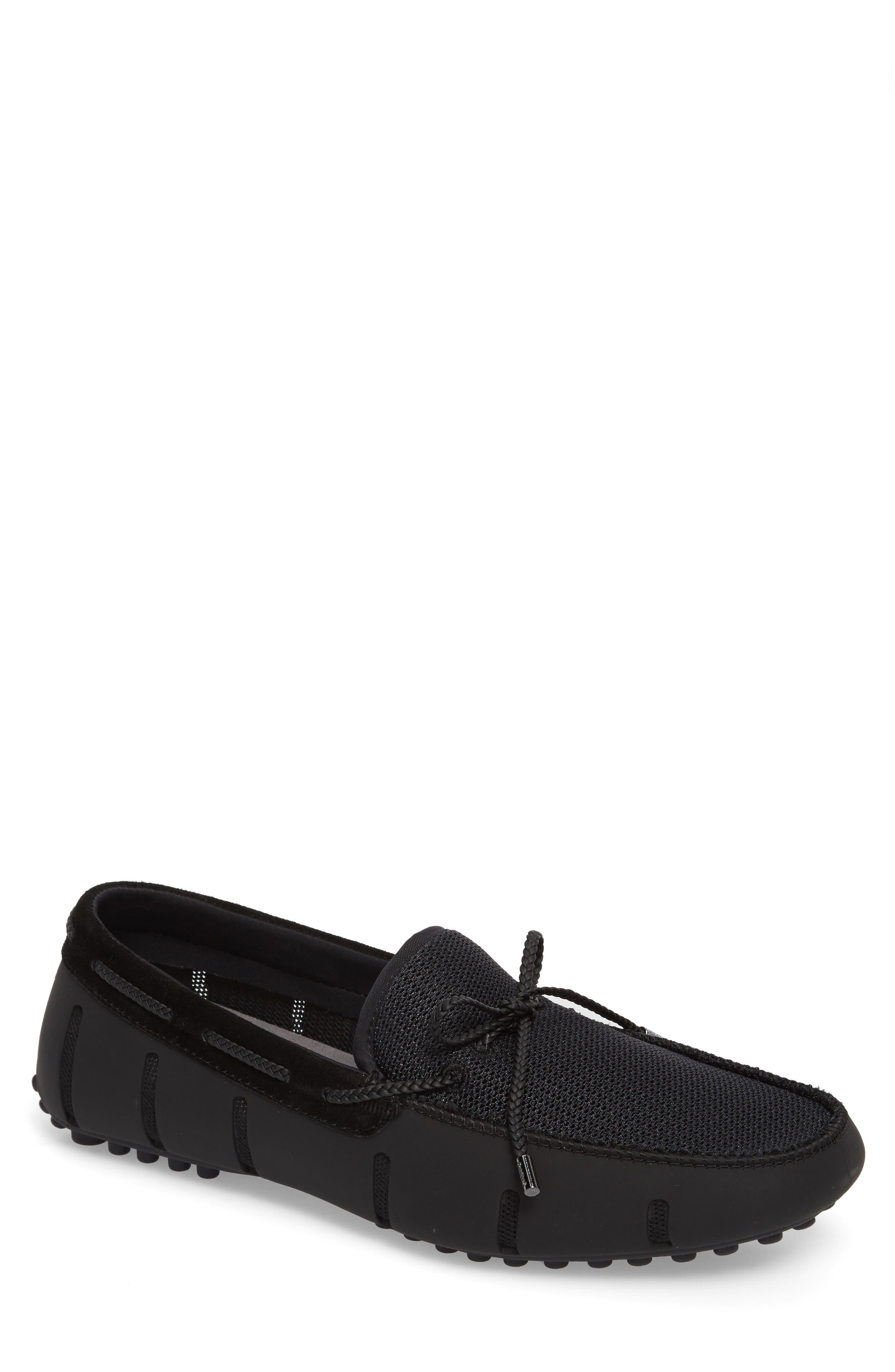 Driving Shoe,                             Main thumbnail 1, color,                             Black/ Graphite