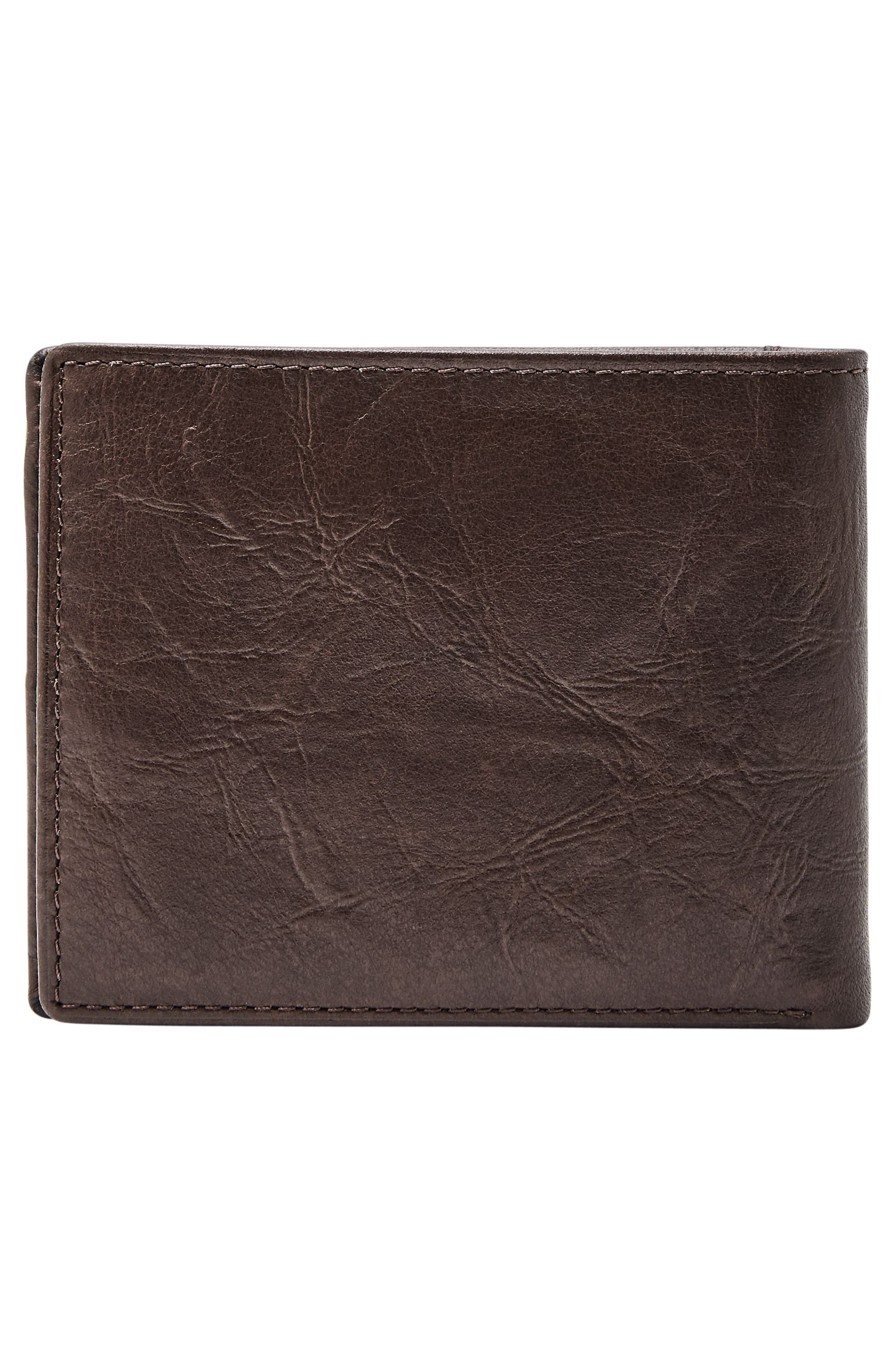 Alternate Image 3  - Fossil Leather Wallet