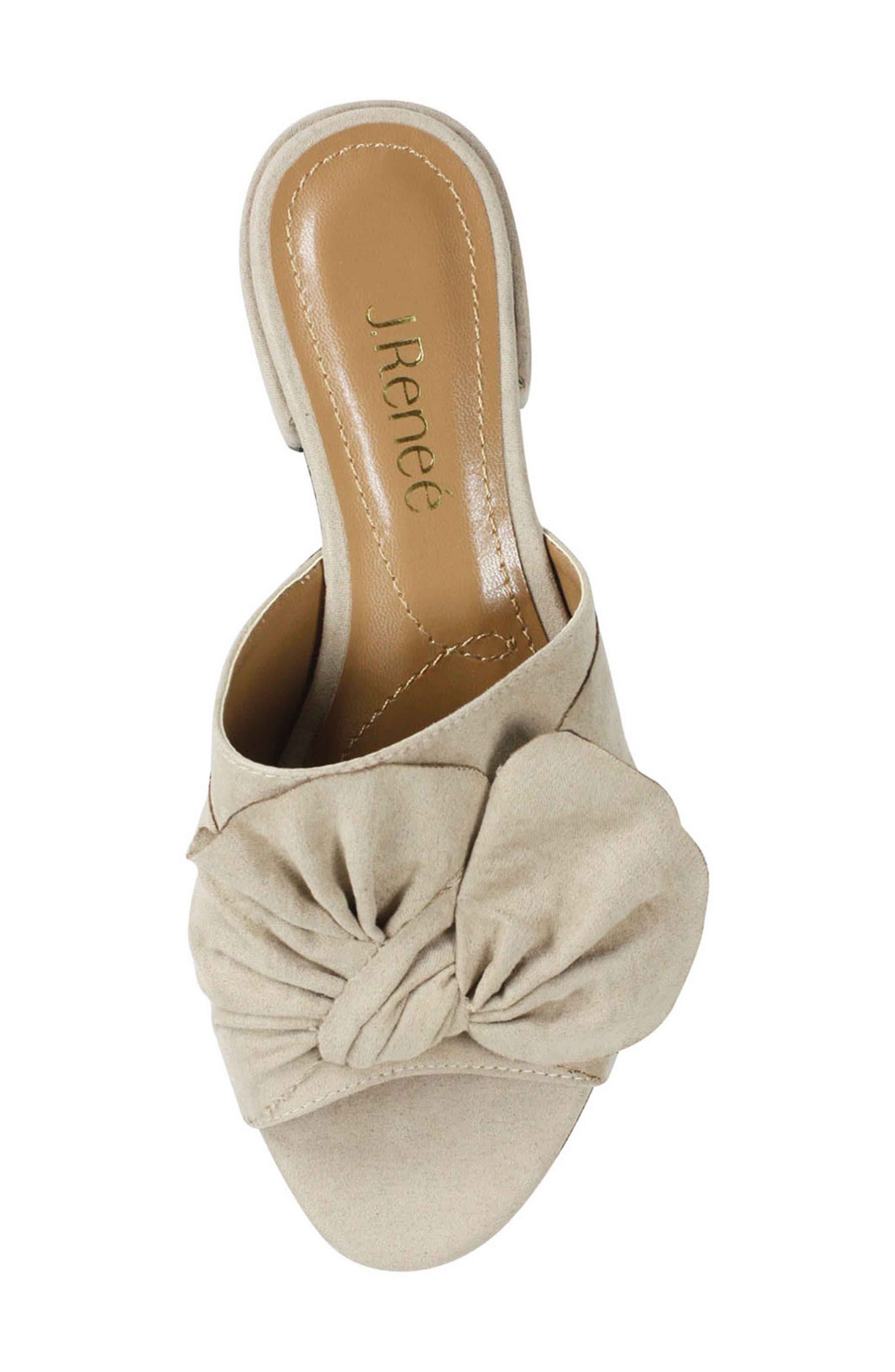 Sattuck Slide Sandal,                             Alternate thumbnail 4, color,                             Dark Beige Fabric