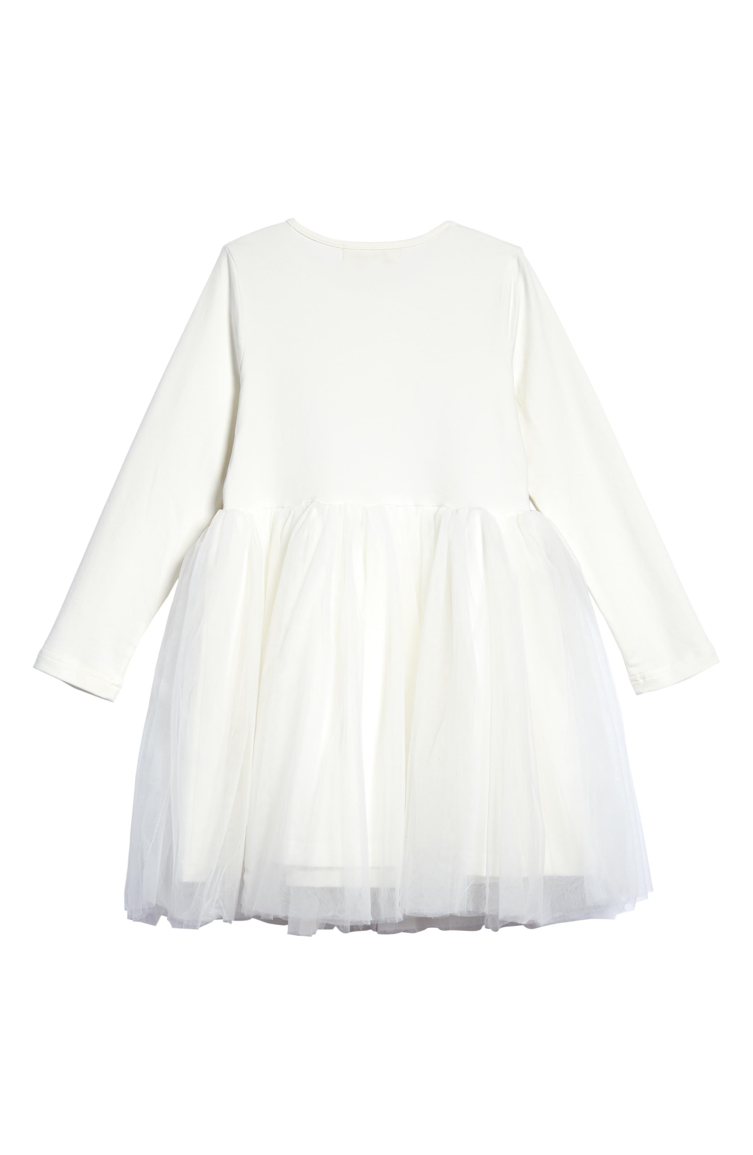 Alternate Image 2  - Doe A Dear Tulle Party Dress (Toddler Girls & Little Girls)