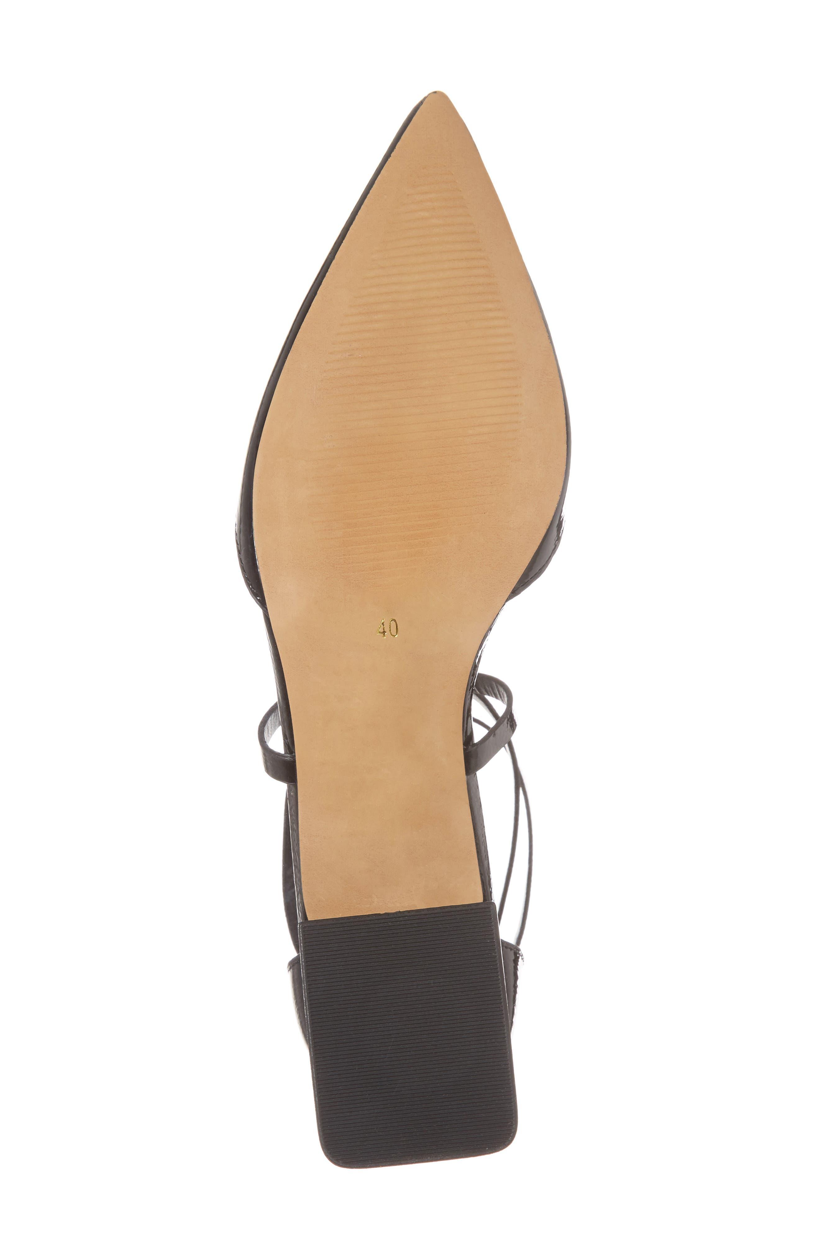 Alternate Image 6  - Topshop Jolly Flared Heel d'Orsay Pump (Women)