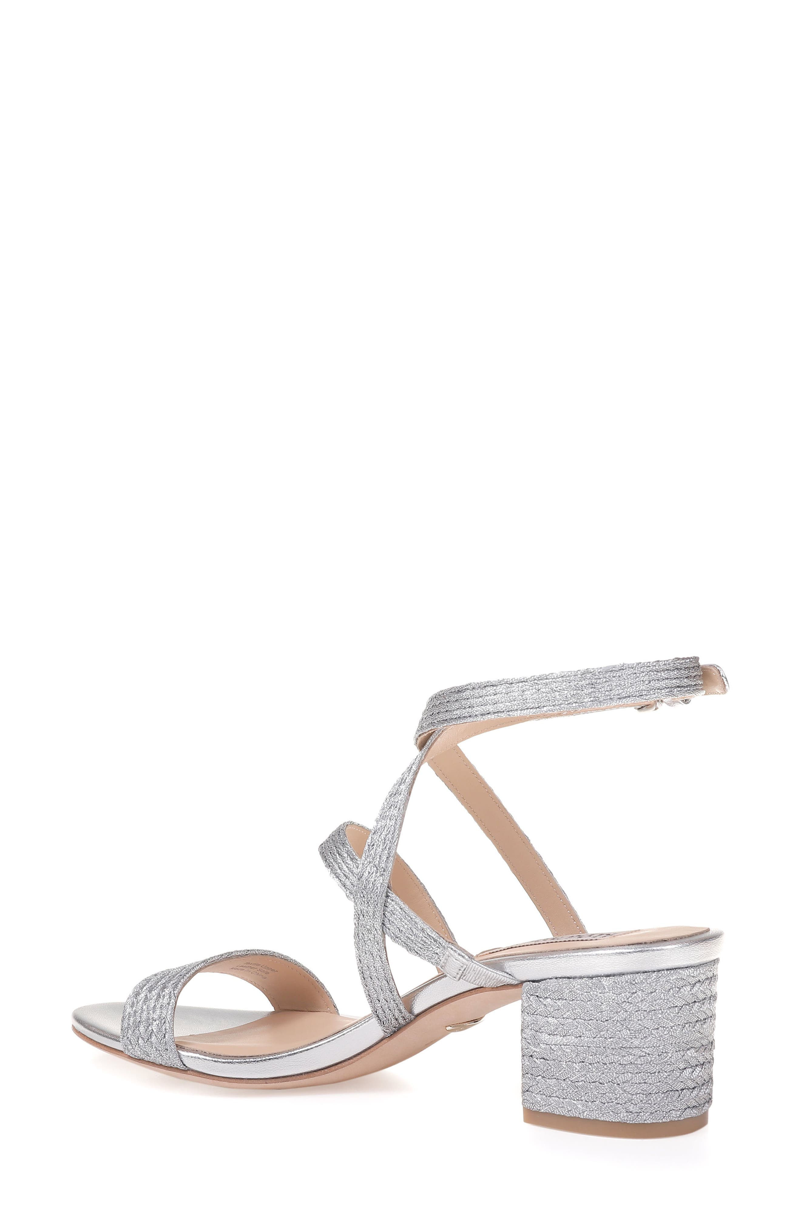 Alternate Image 2  - Badgley Mischka Storm Block Heel Sandal (Women)