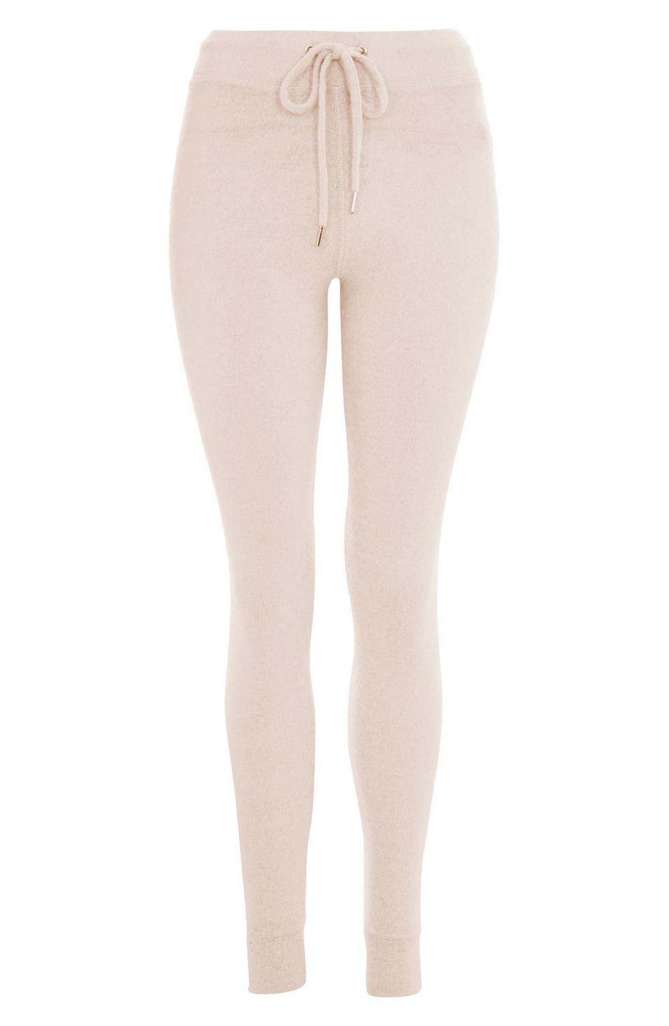 Skinny Jogger Pants,                             Alternate thumbnail 3, color,                             Light Pink