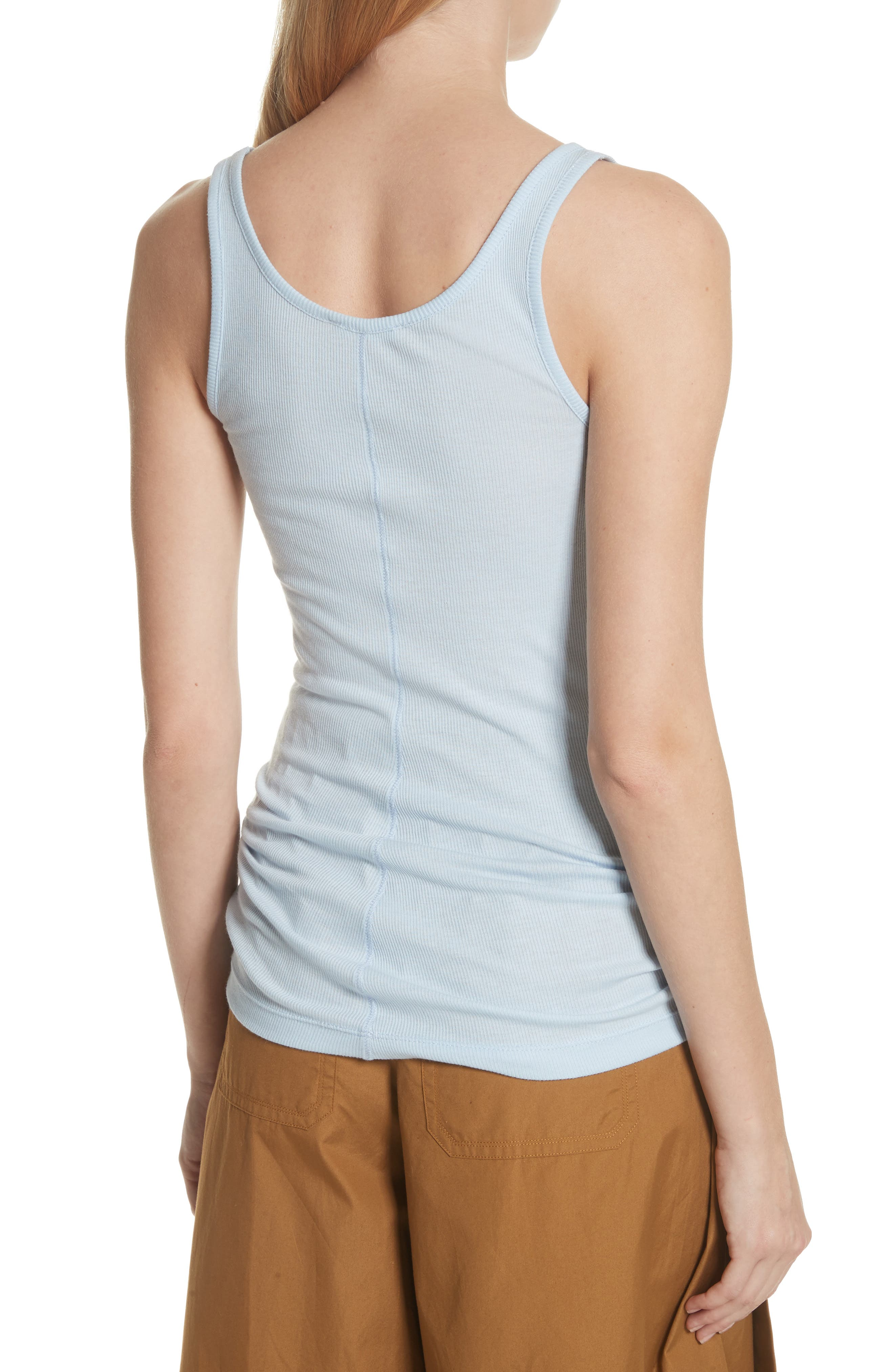 Scoop Neck Tank,                             Alternate thumbnail 2, color,                             Powder Blue