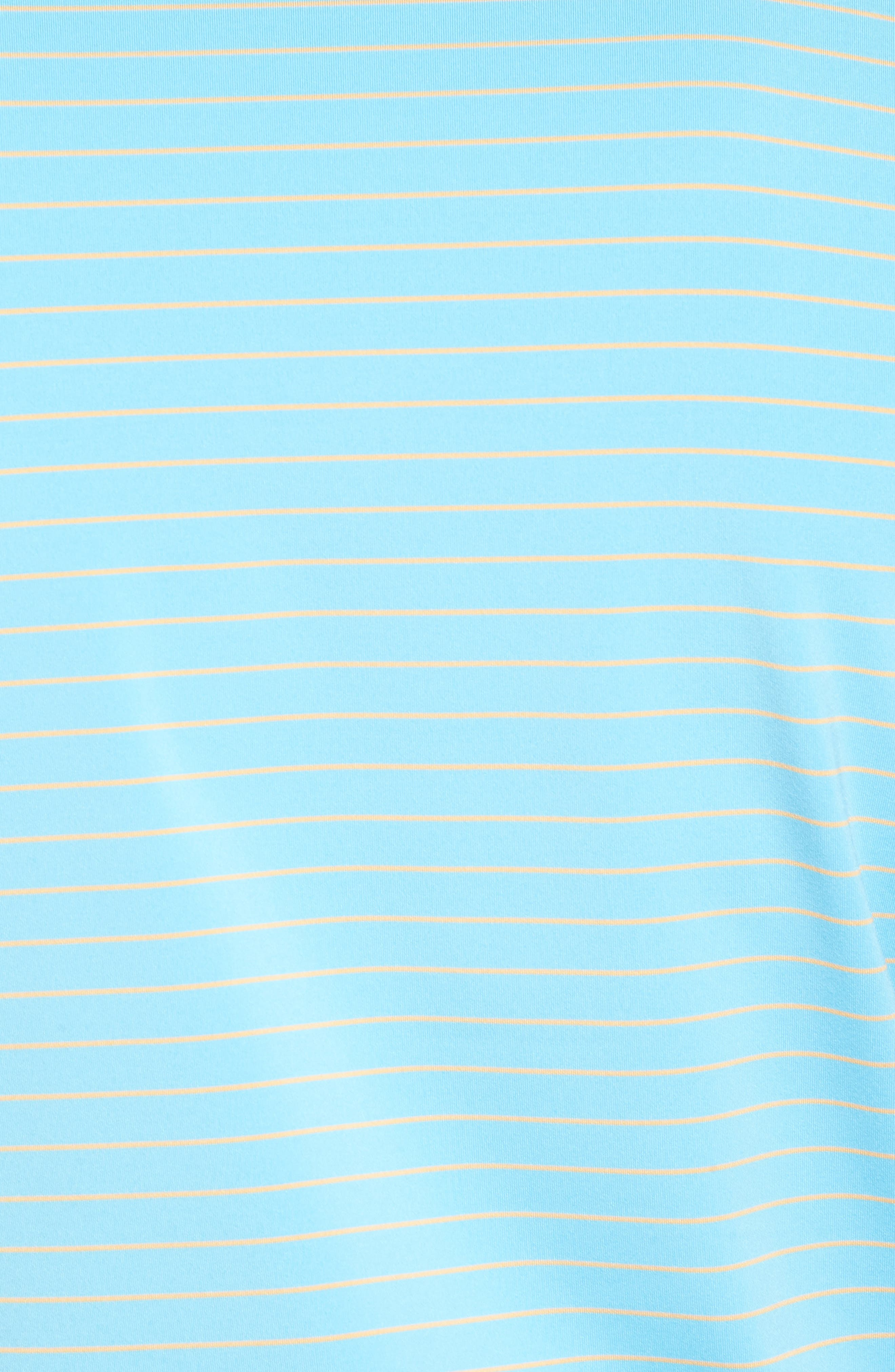 Halifax Pinstripe Stretch Jersey Polo,                             Alternate thumbnail 5, color,                             Grotto Blue