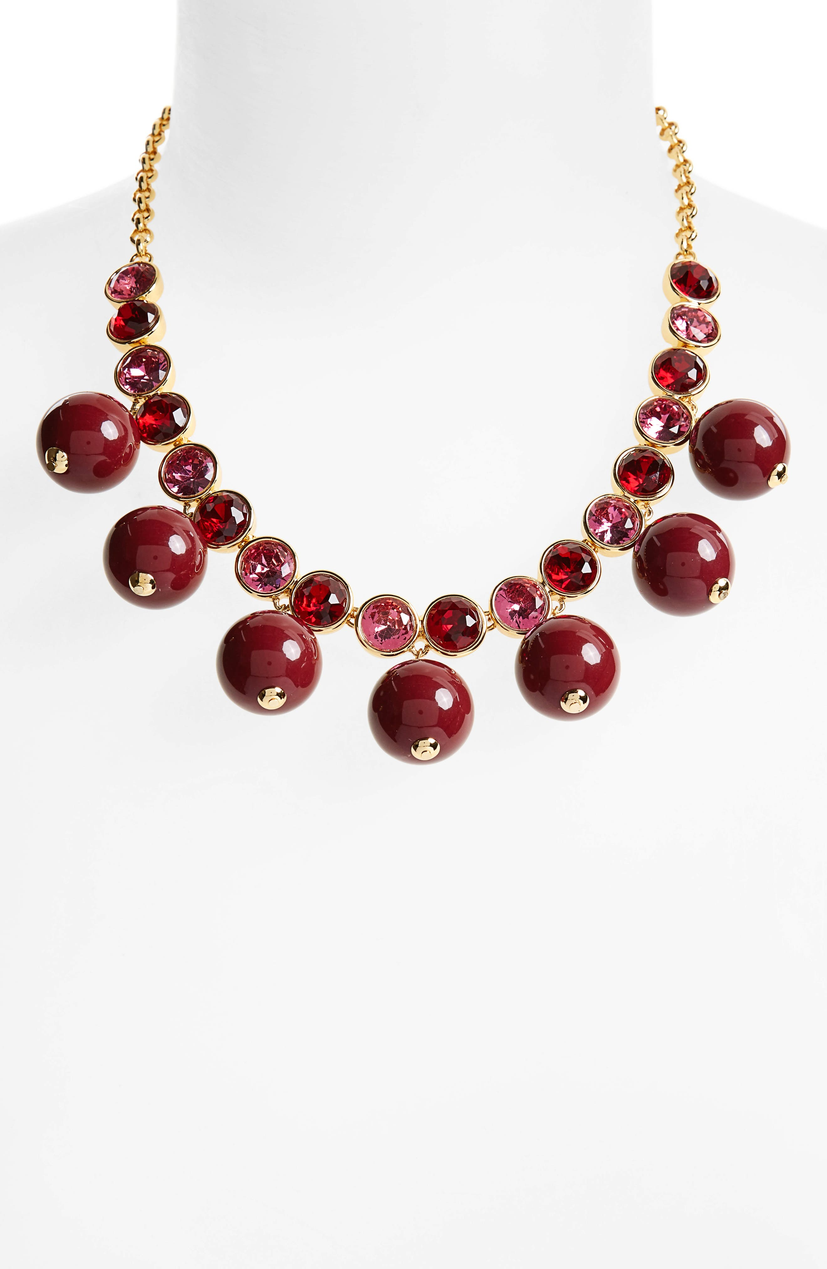 Alternate Image 2  - kate spade new york true colors bauble necklace