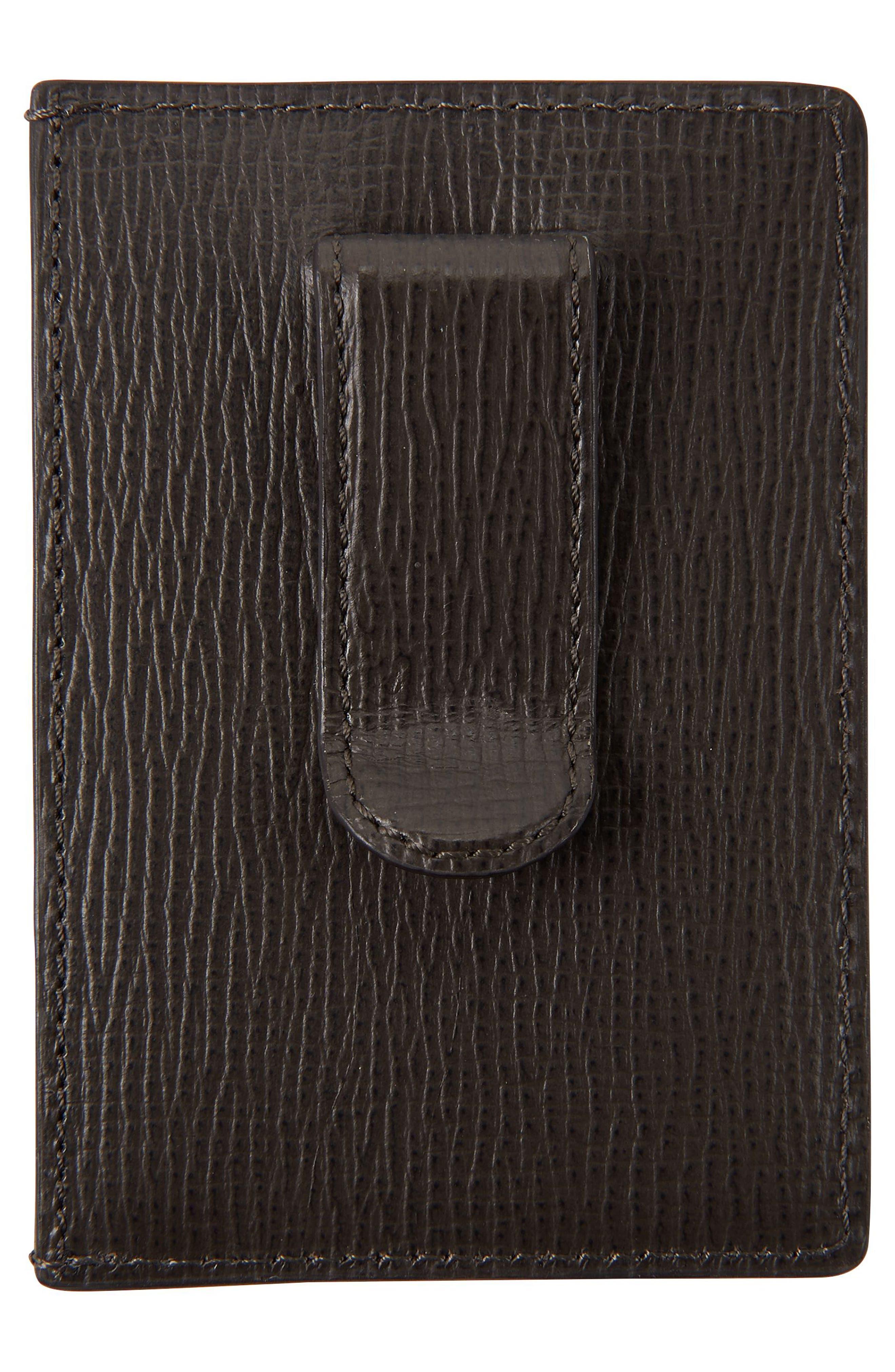 Alternate Image 2  - Tumi Monaco Leather Money Clip Card Case