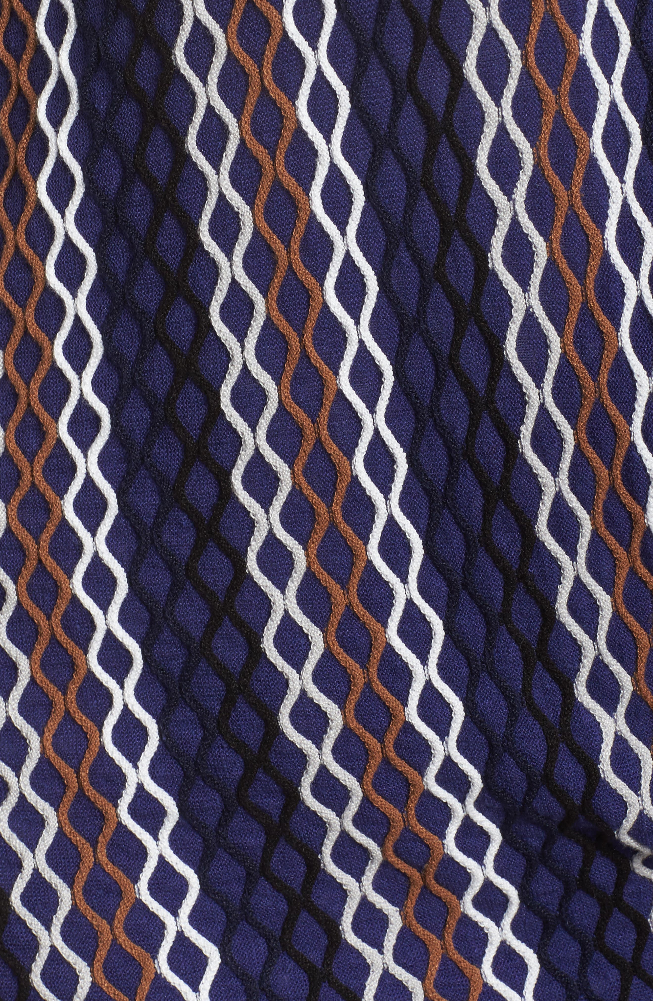 Squiggled Up Four Way Cardigan,                             Alternate thumbnail 6, color,                             Multi