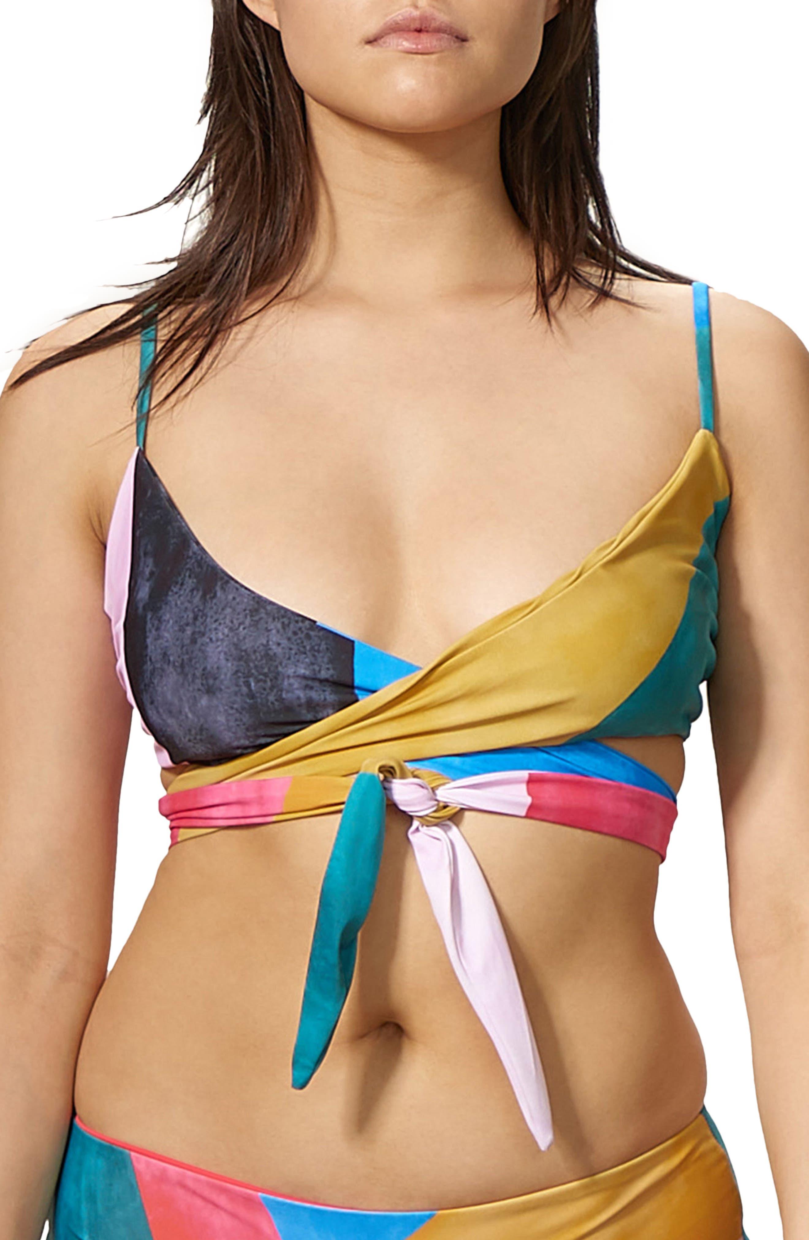 Main Image - Mara Hoffman Mila Wrap Bikini Top