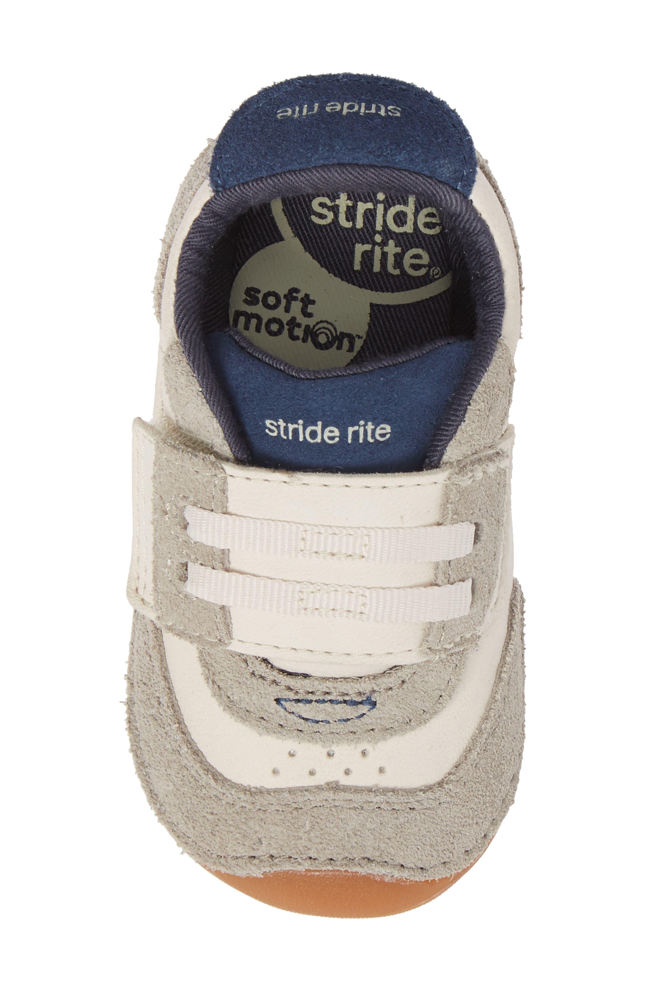 Soft Motion SRT Wyatt Sneaker,                             Alternate thumbnail 5, color,                             Stone Leather