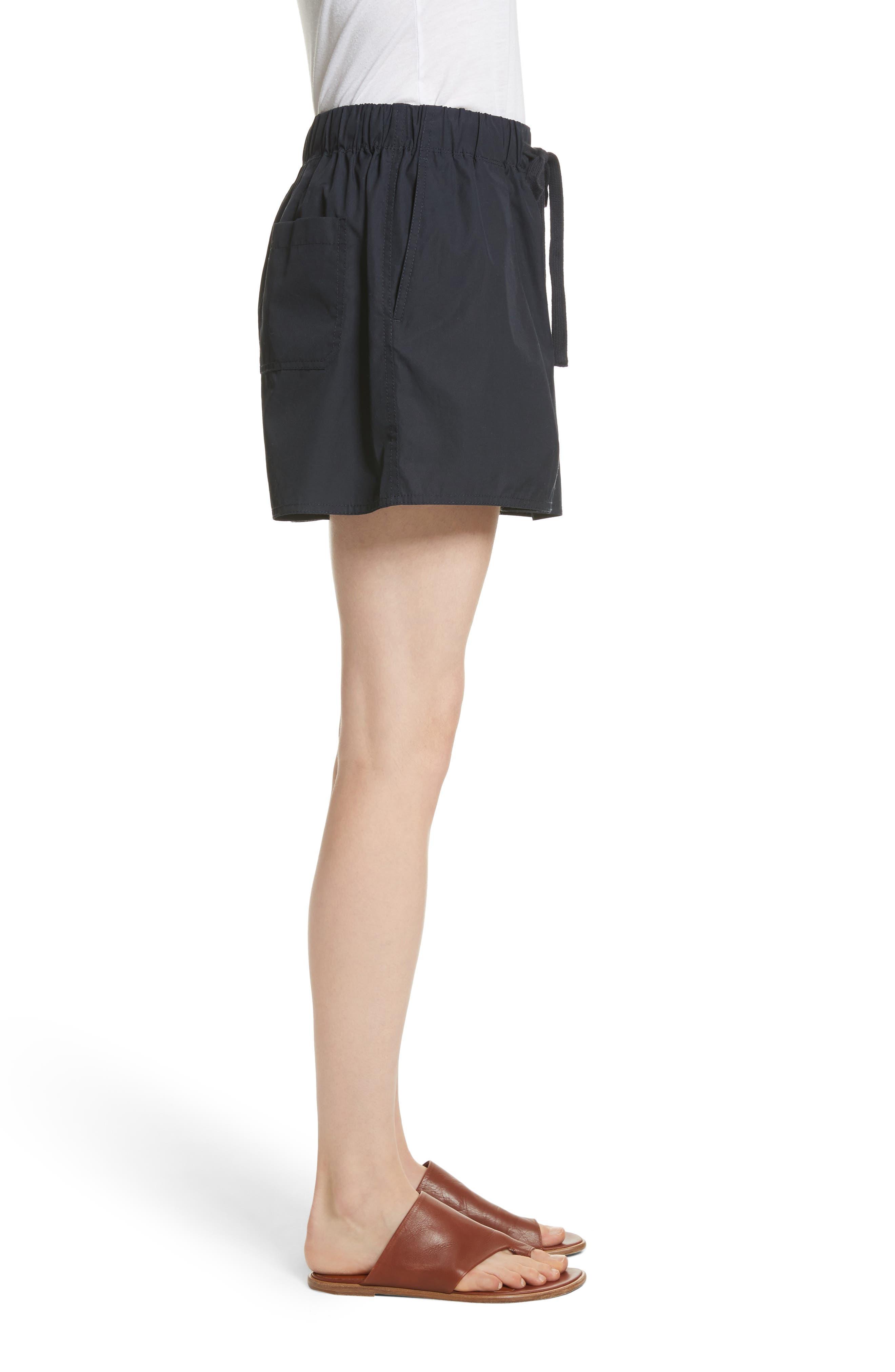 Alternate Image 3  - Vince Drawstring Cotton Shorts