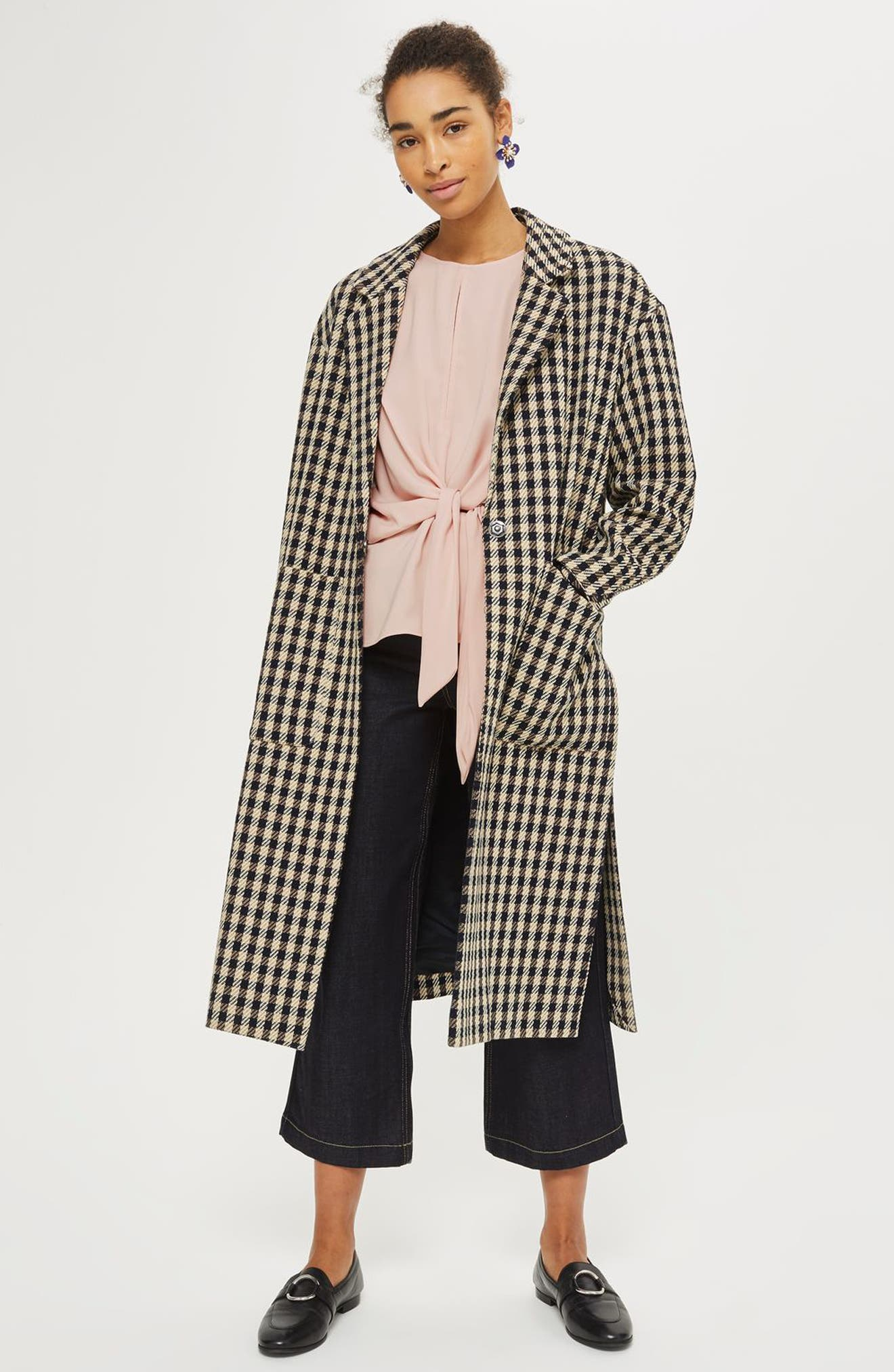 Alternate Image 2  - Topshop Slouchy Knot Front Blouse