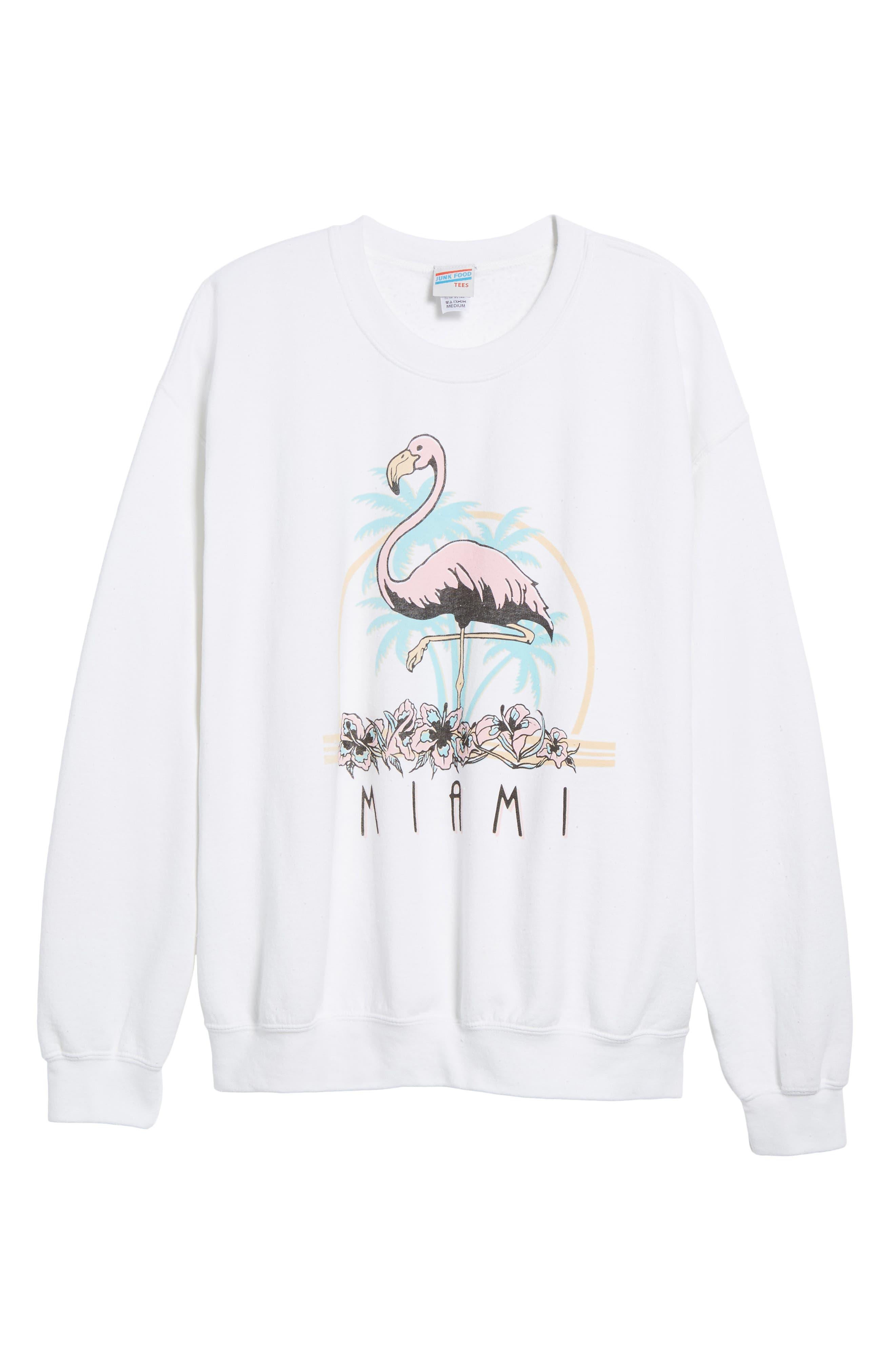 Alternate Image 6  - Junk Food Miami Sweatshirt