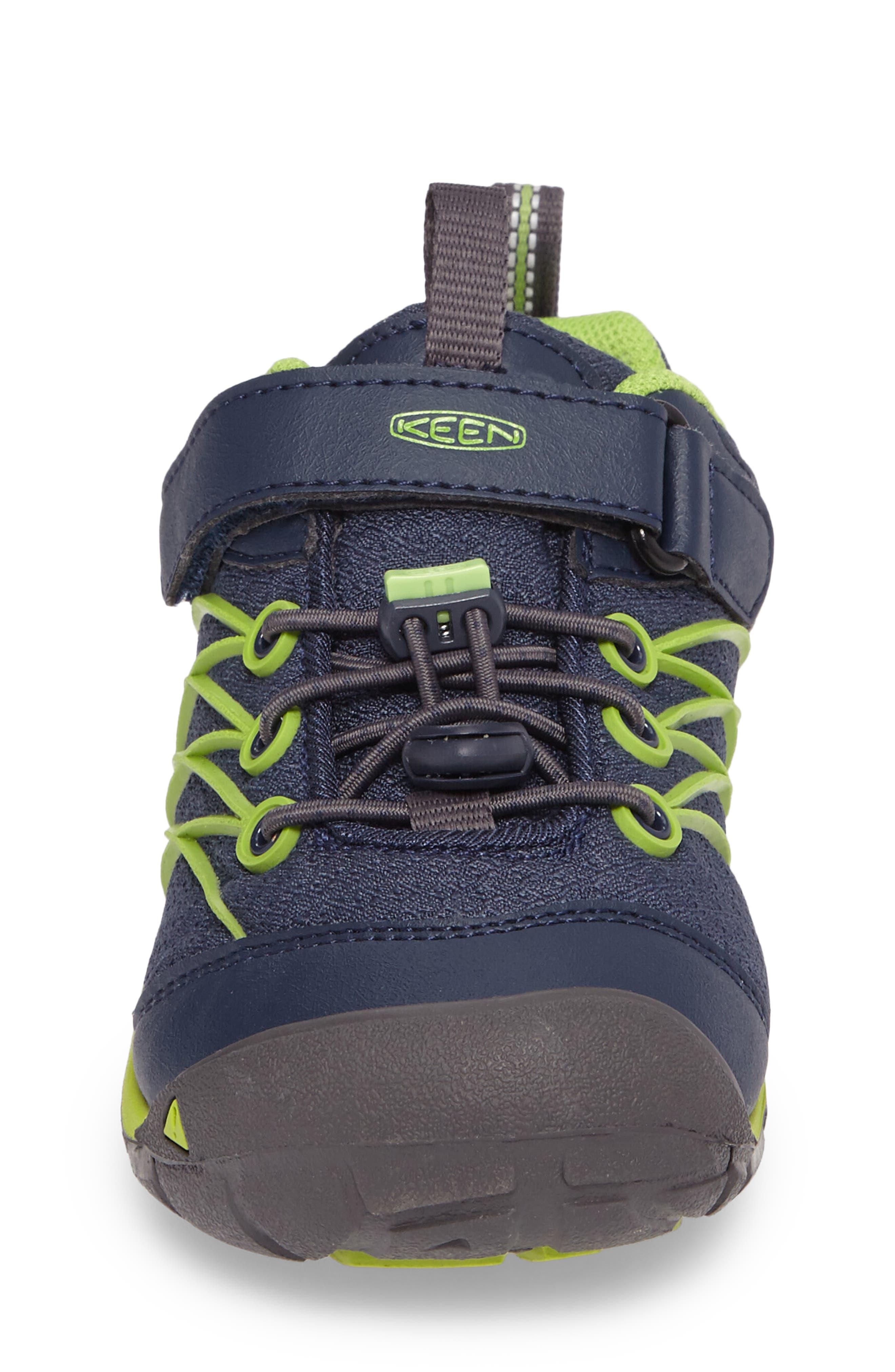 Chandler CNX Waterproof Sneaker,                             Alternate thumbnail 4, color,                             Dress Blues/ Greenery